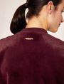 ARMANI EXCHANGE FAUX-SHEARLING BOMBER Jacket Woman b