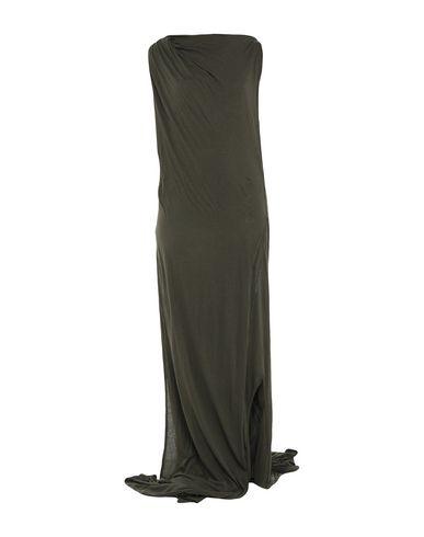 Фото - Женское длинное платье  темно-зеленого цвета
