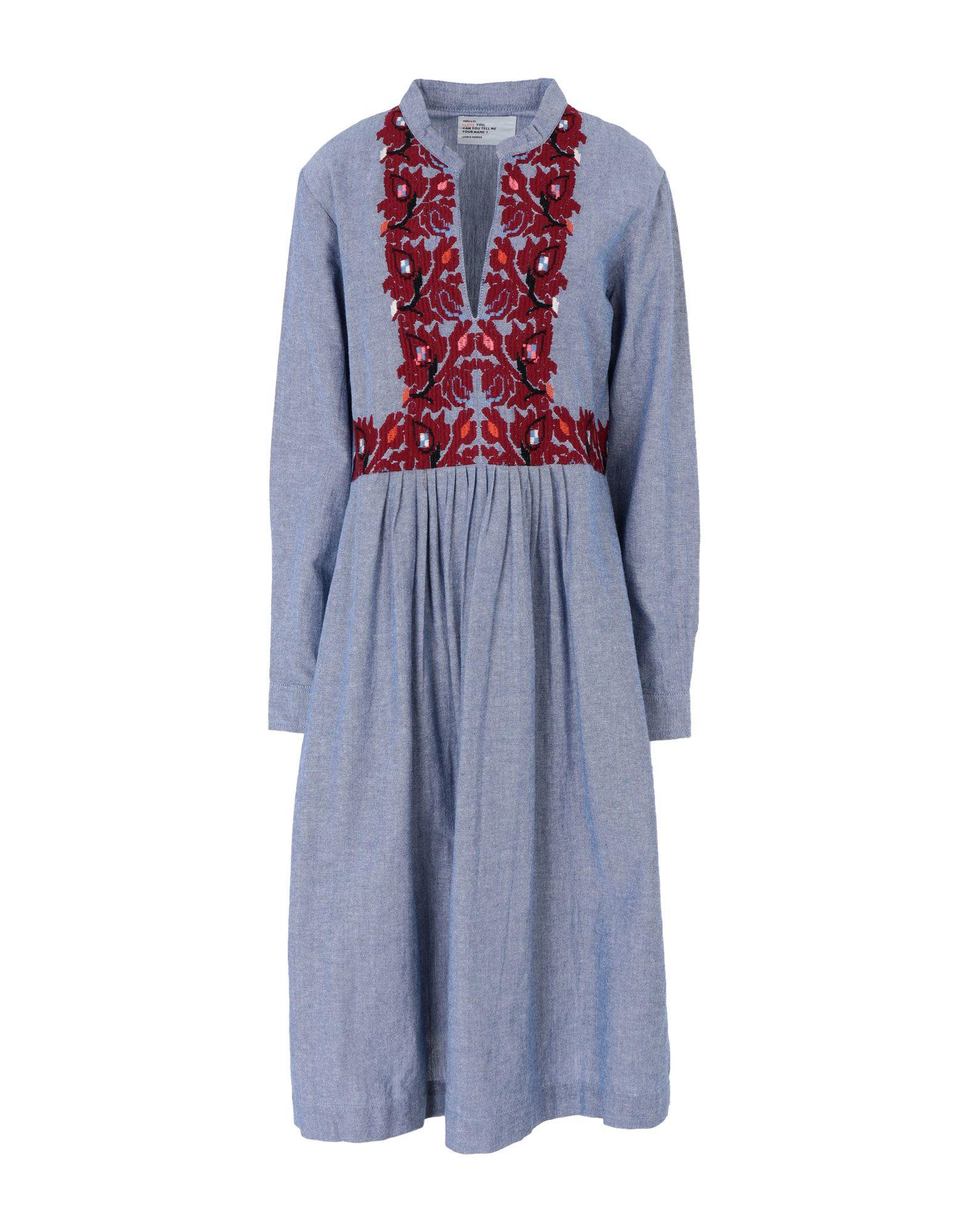LEON & HARPER Платье длиной 3/4 leon angel test3 to