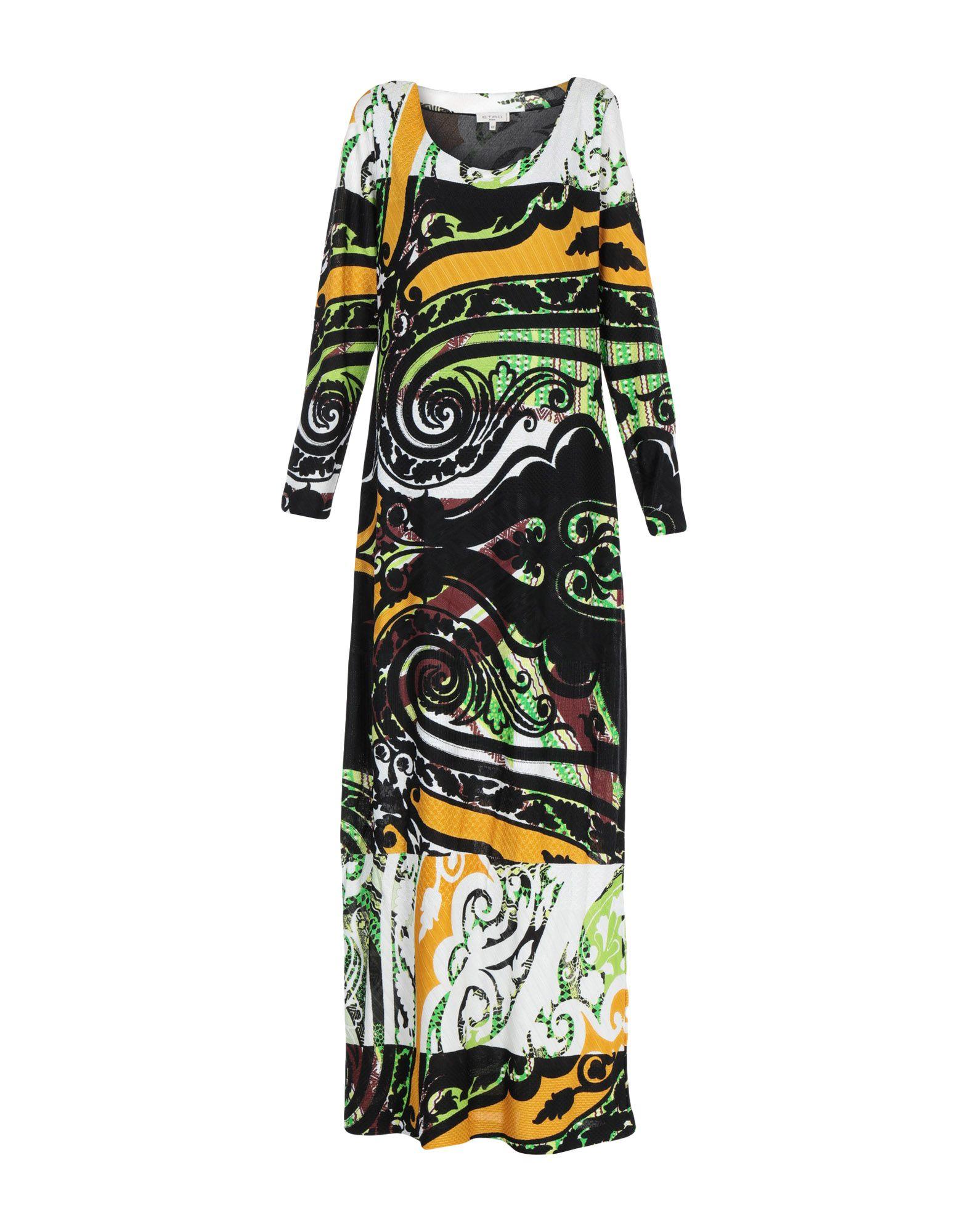 ETRO Длинное платье редуктор walcom 61000