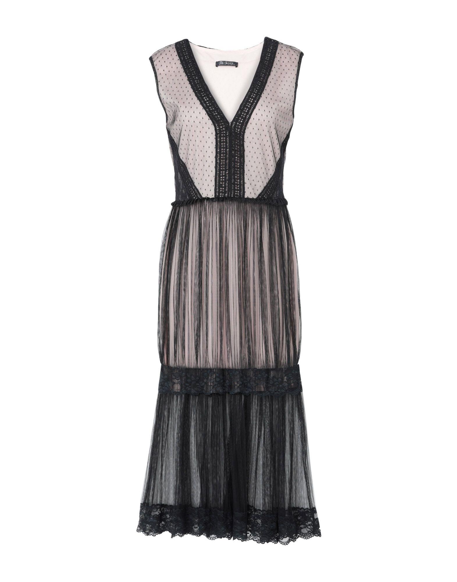 LA KORE Платье длиной 3/4 la fabrique платье длиной 3 4