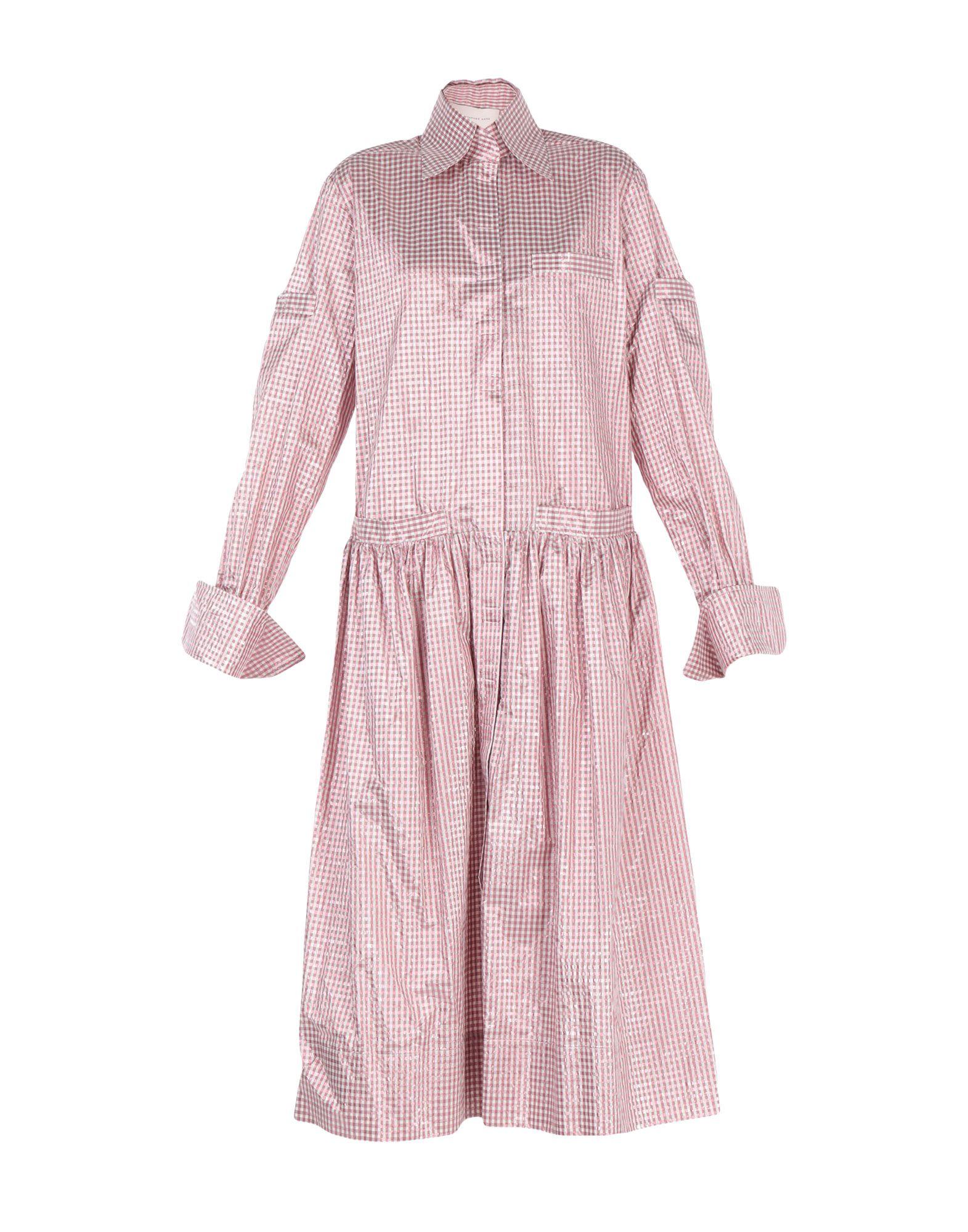 CHRISTOPHER KANE Платье длиной 3/4 рубашка мужская christopher kane gb97715 2014