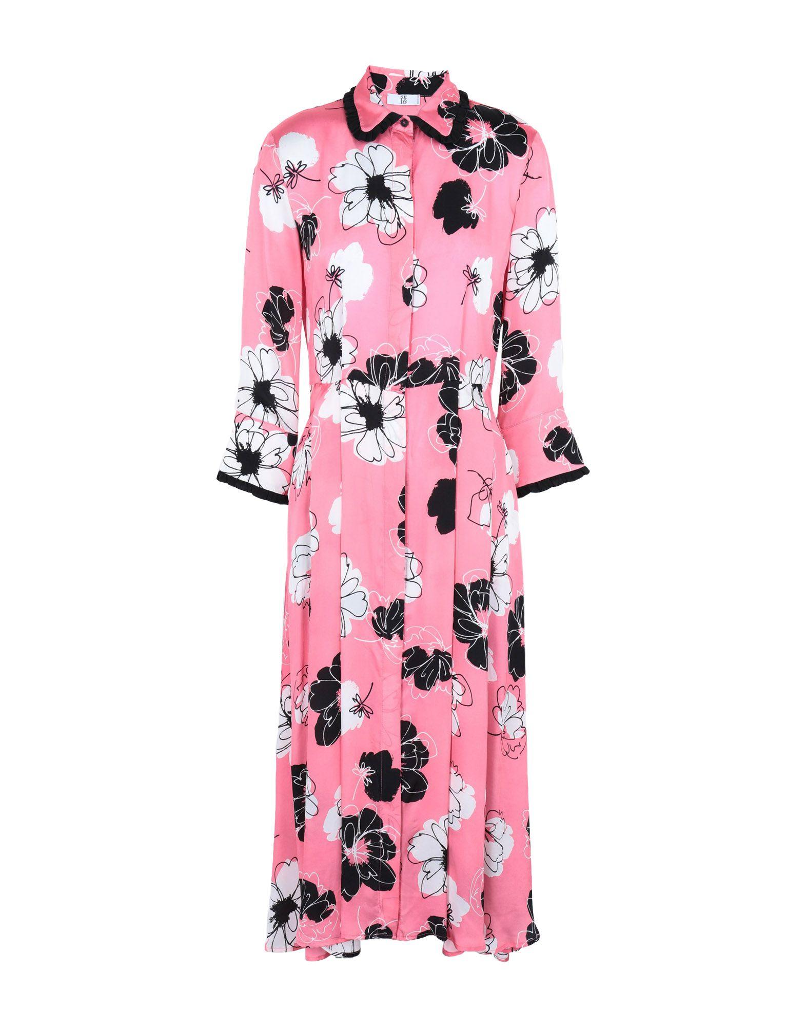 SFIZIO Платье до колена платье рубашка fox yulia sway платье рубашка fox