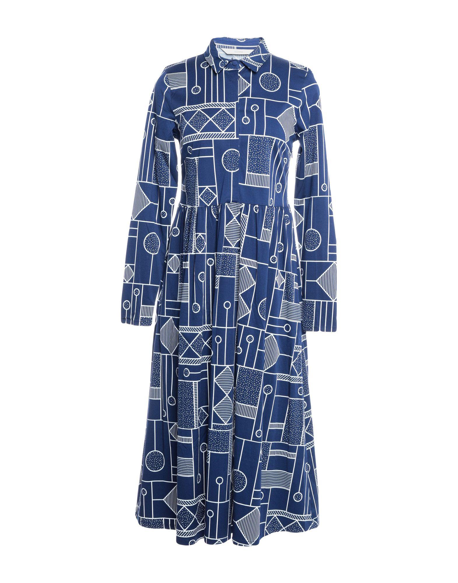 NÜMPH Платье длиной 3/4 рубашка nümph 7217009 pristine
