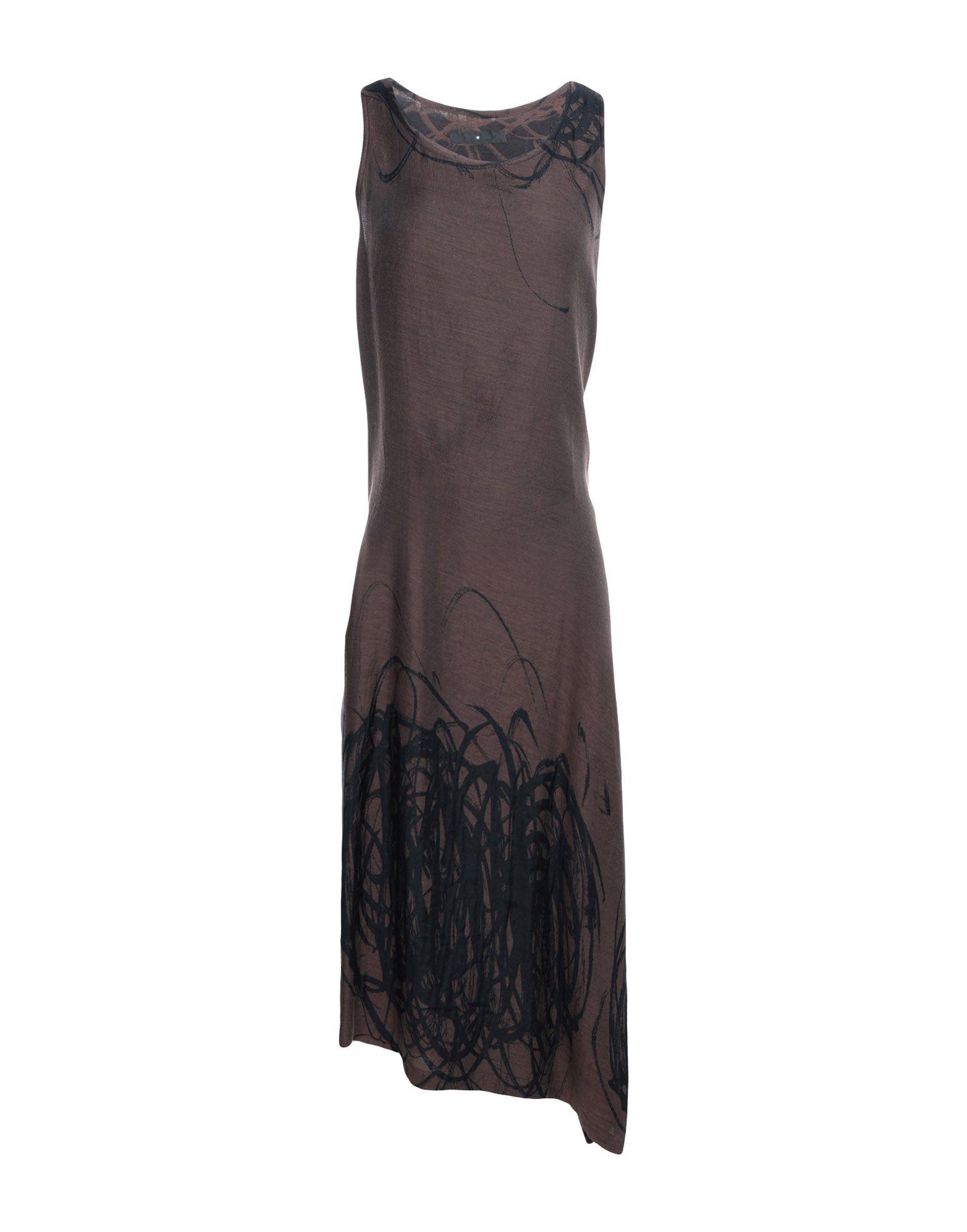 SHU MORIYAMA Платье до колена домик для грызунов shu shu круглый цвет коричневый 23 х 23 х 12 см
