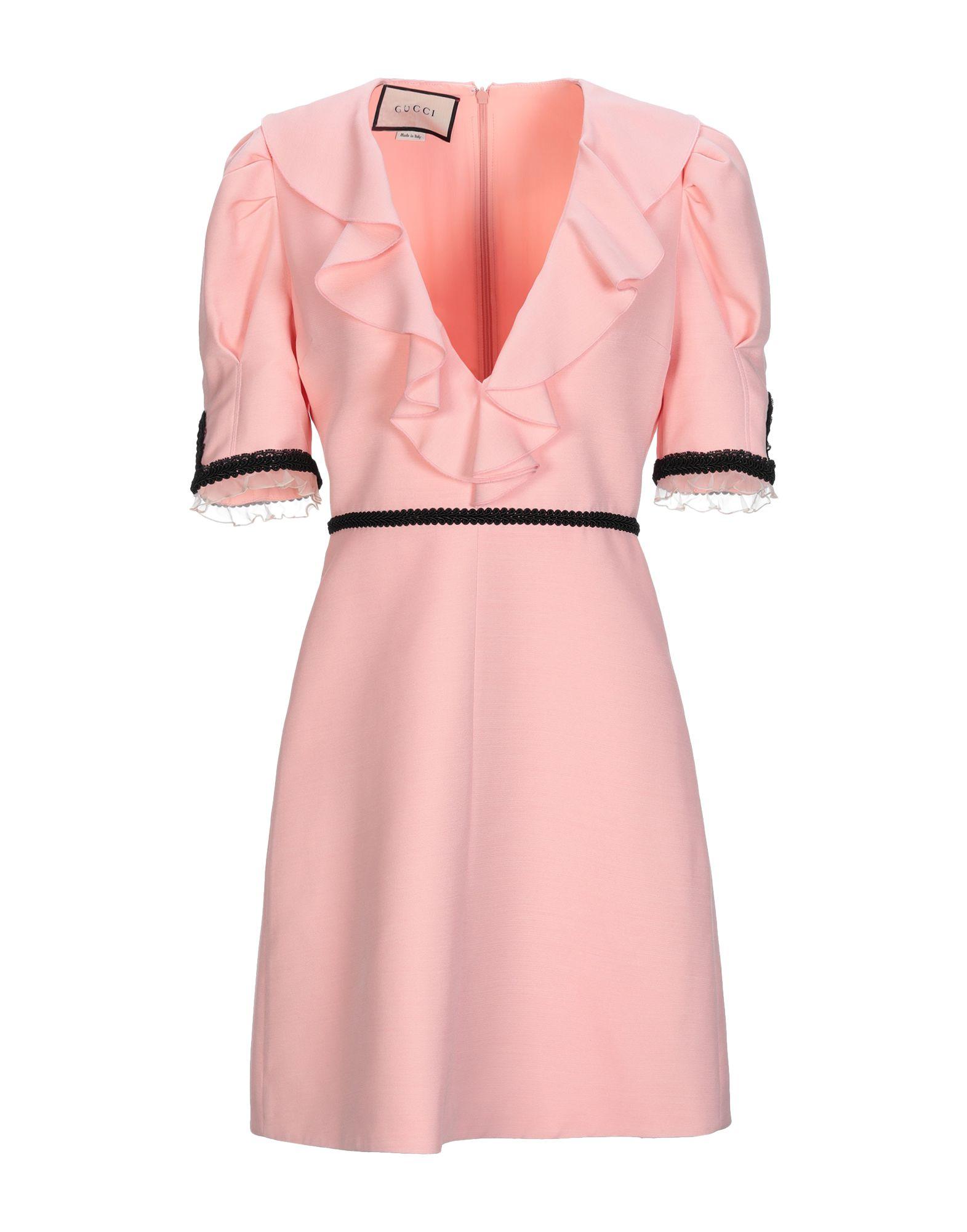 GUCCI Damen Kurzes Kleid Farbe Rosa Größe 3