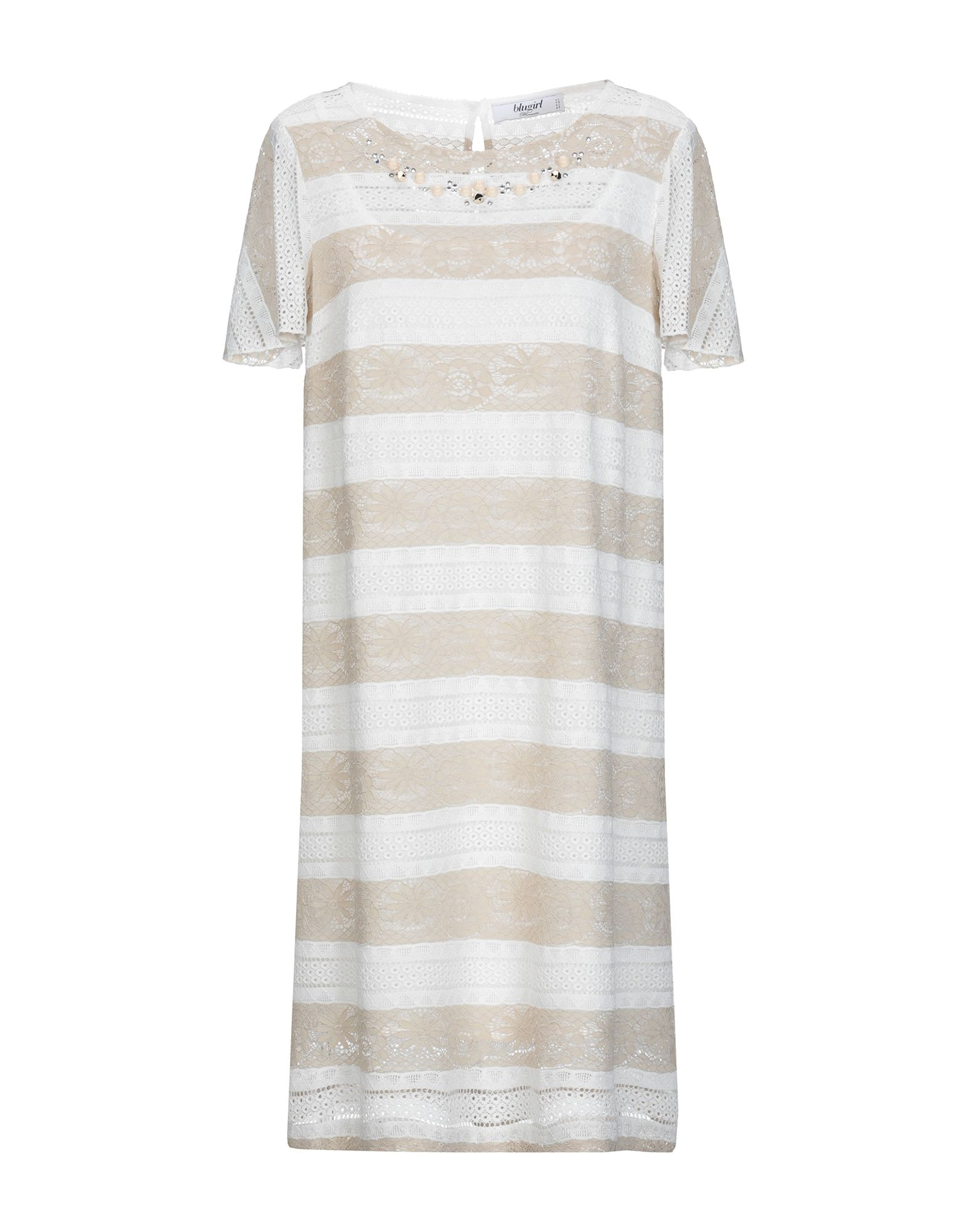 BLUGIRL BLUMARINE Короткое платье летнее платье юбка в складку blumarine