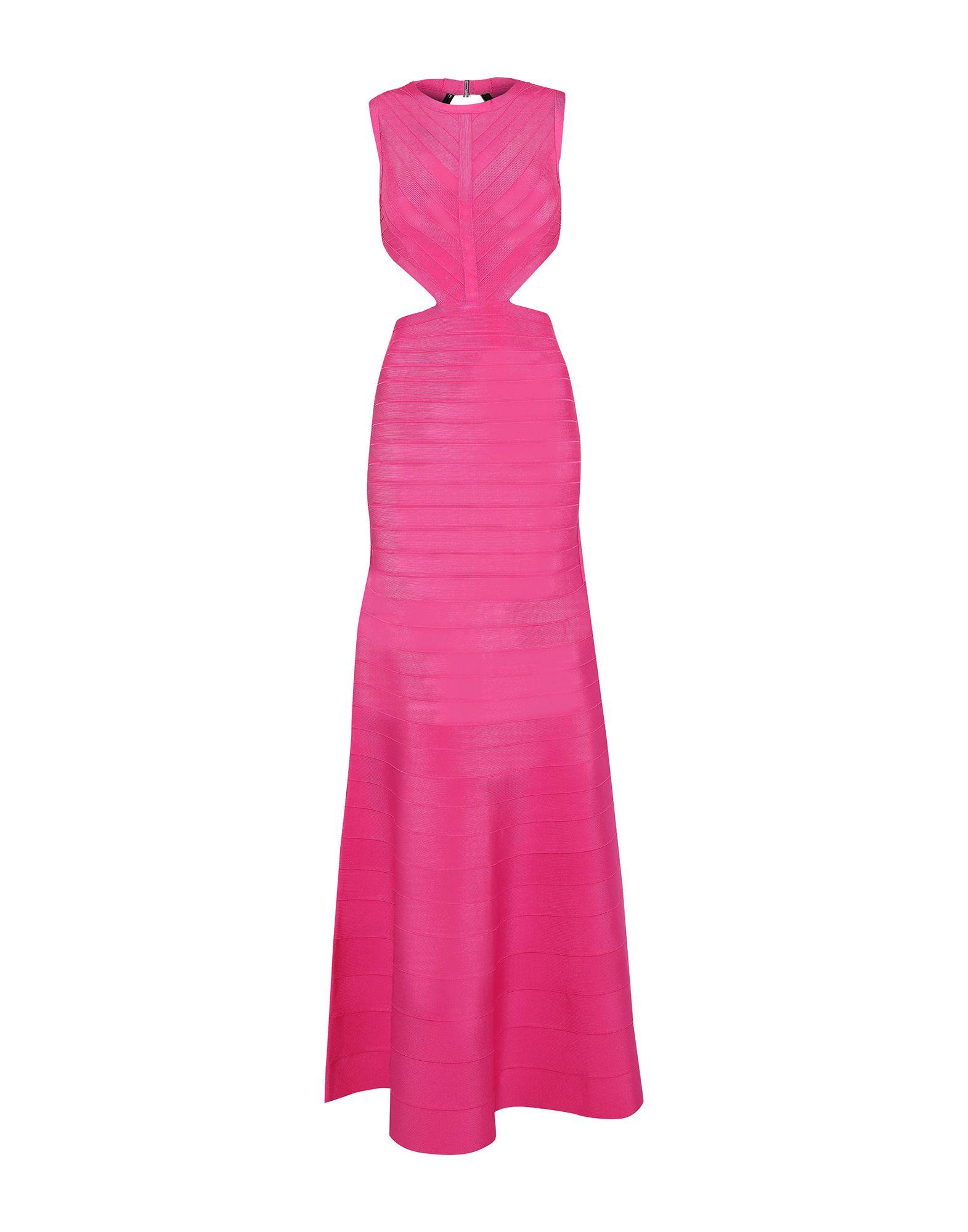 HERVÉ LÉGER Длинное платье