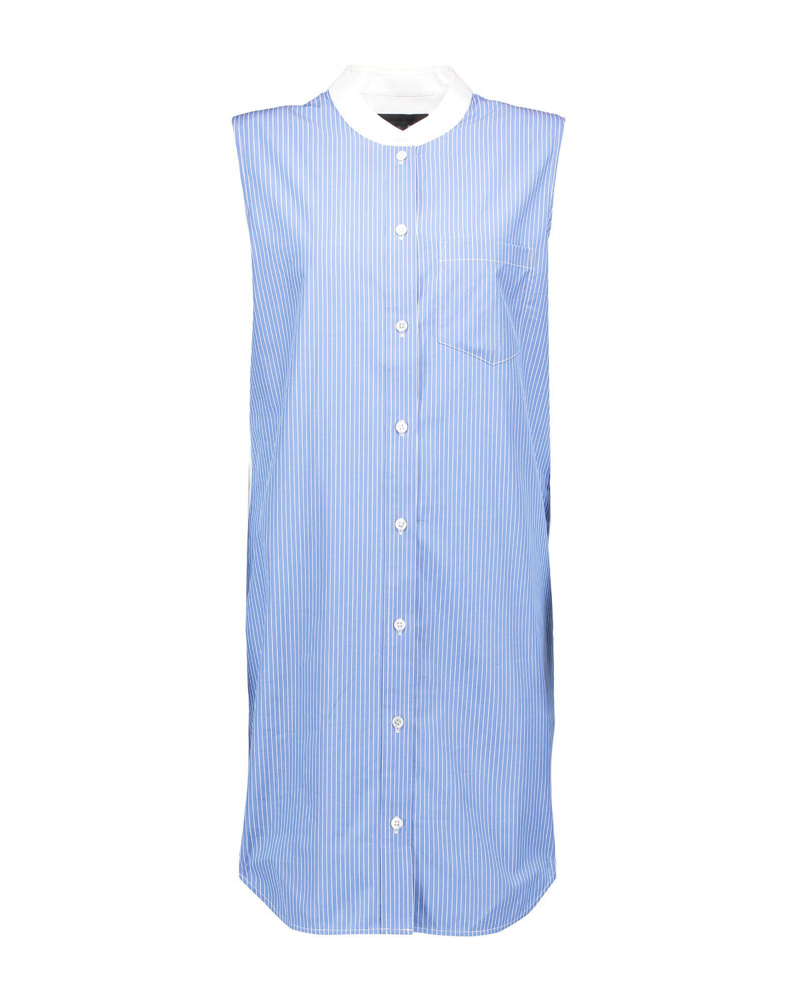 ALEXANDER WANG Короткое платье платье рубашка fox yulia sway платье рубашка fox