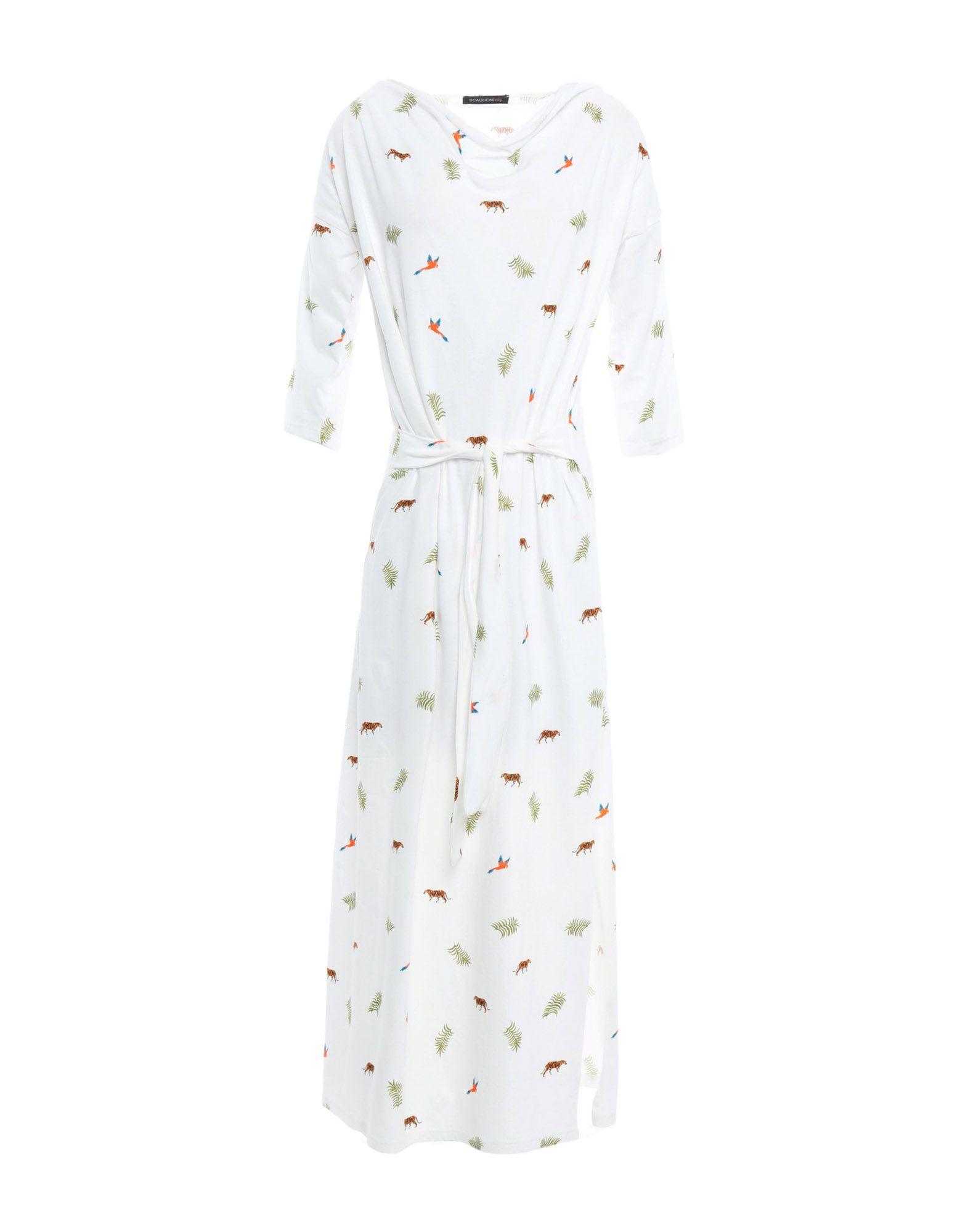 SCAGLIONE CITY Платье длиной 3/4 scaglione city короткое платье
