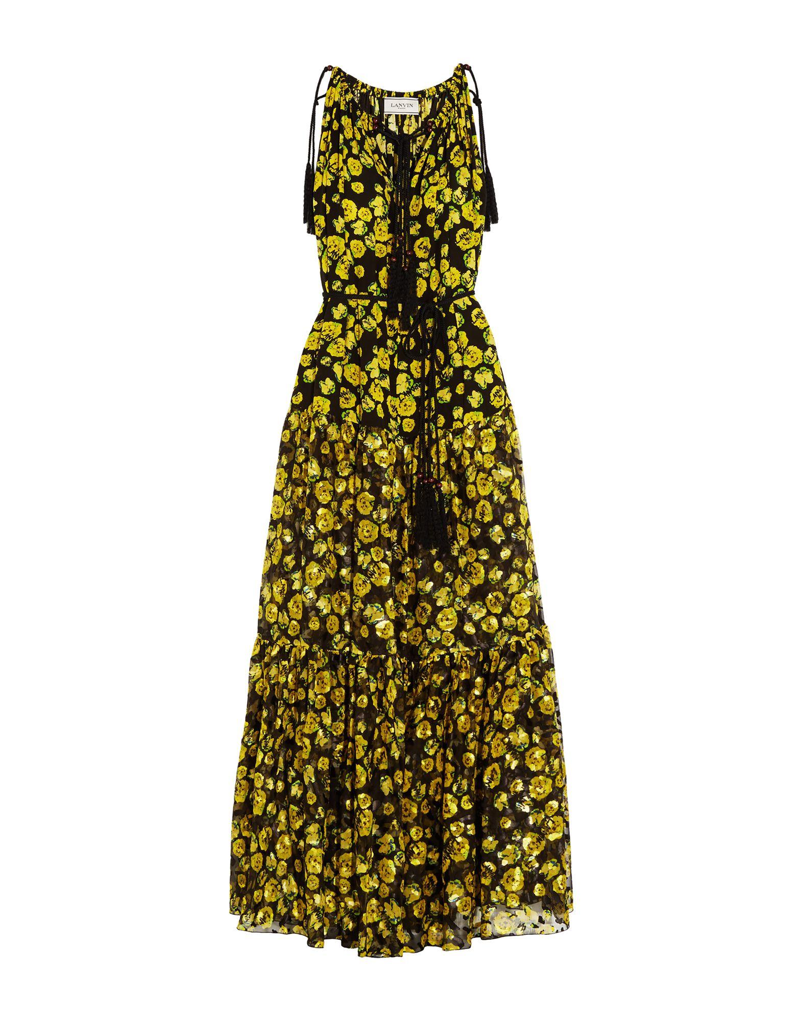 все цены на LANVIN Длинное платье онлайн