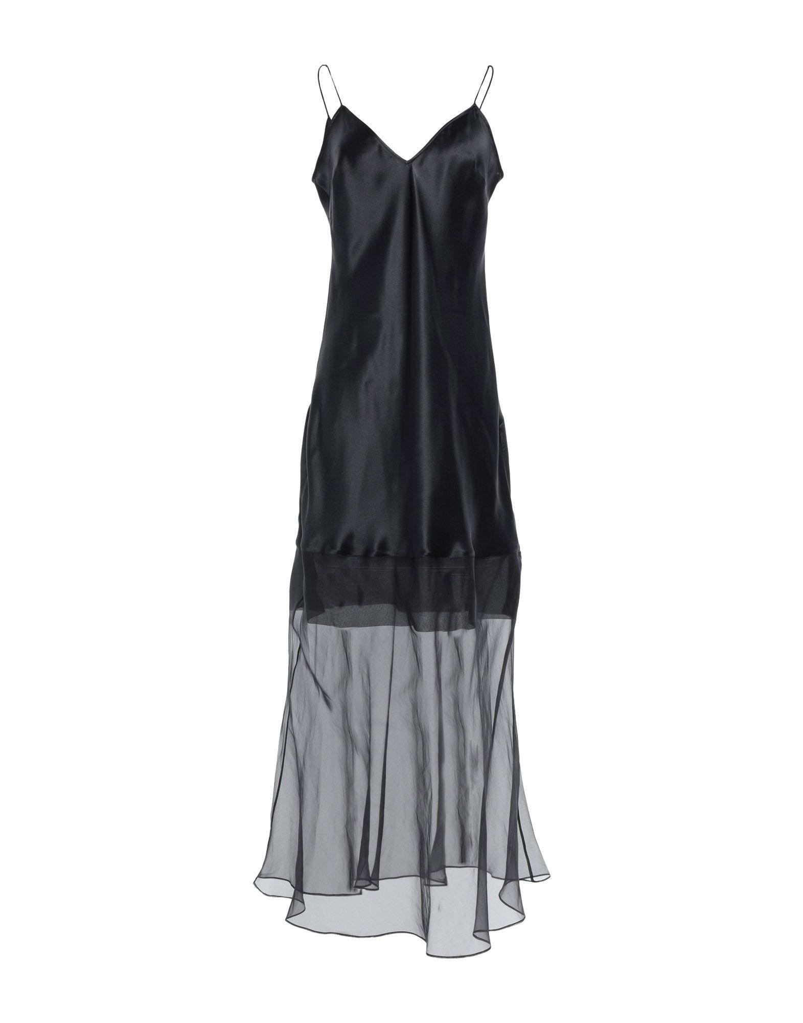 OLIVIER THEYSKENS Длинное платье цена