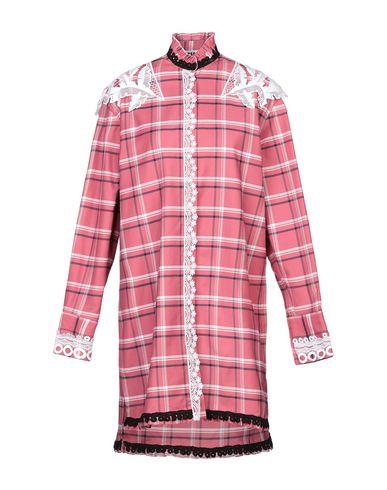 Фото - Женское короткое платье MSGM пастельно-розового цвета