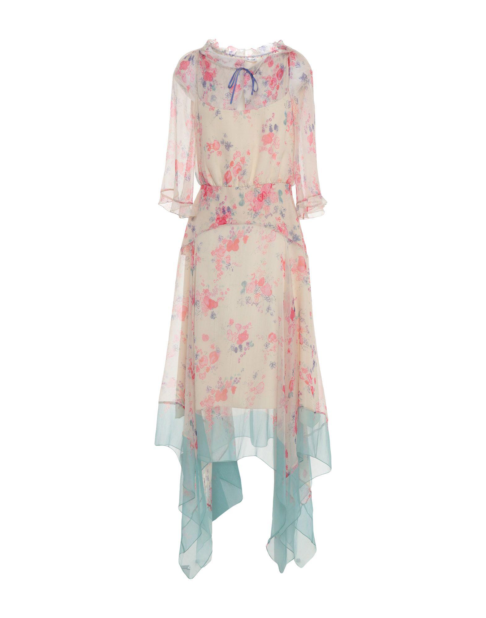 VILSHENKO Платье длиной 3/4 цены онлайн