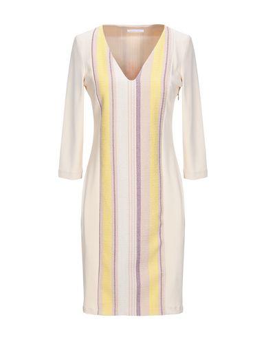 Купить Женское короткое платье  бежевого цвета