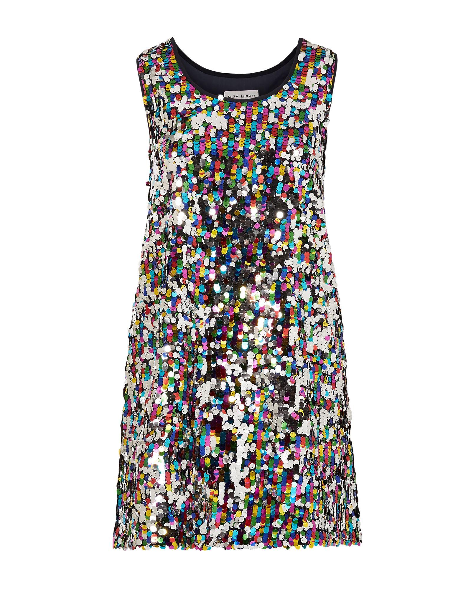 цена MIRA MIKATI Короткое платье онлайн в 2017 году