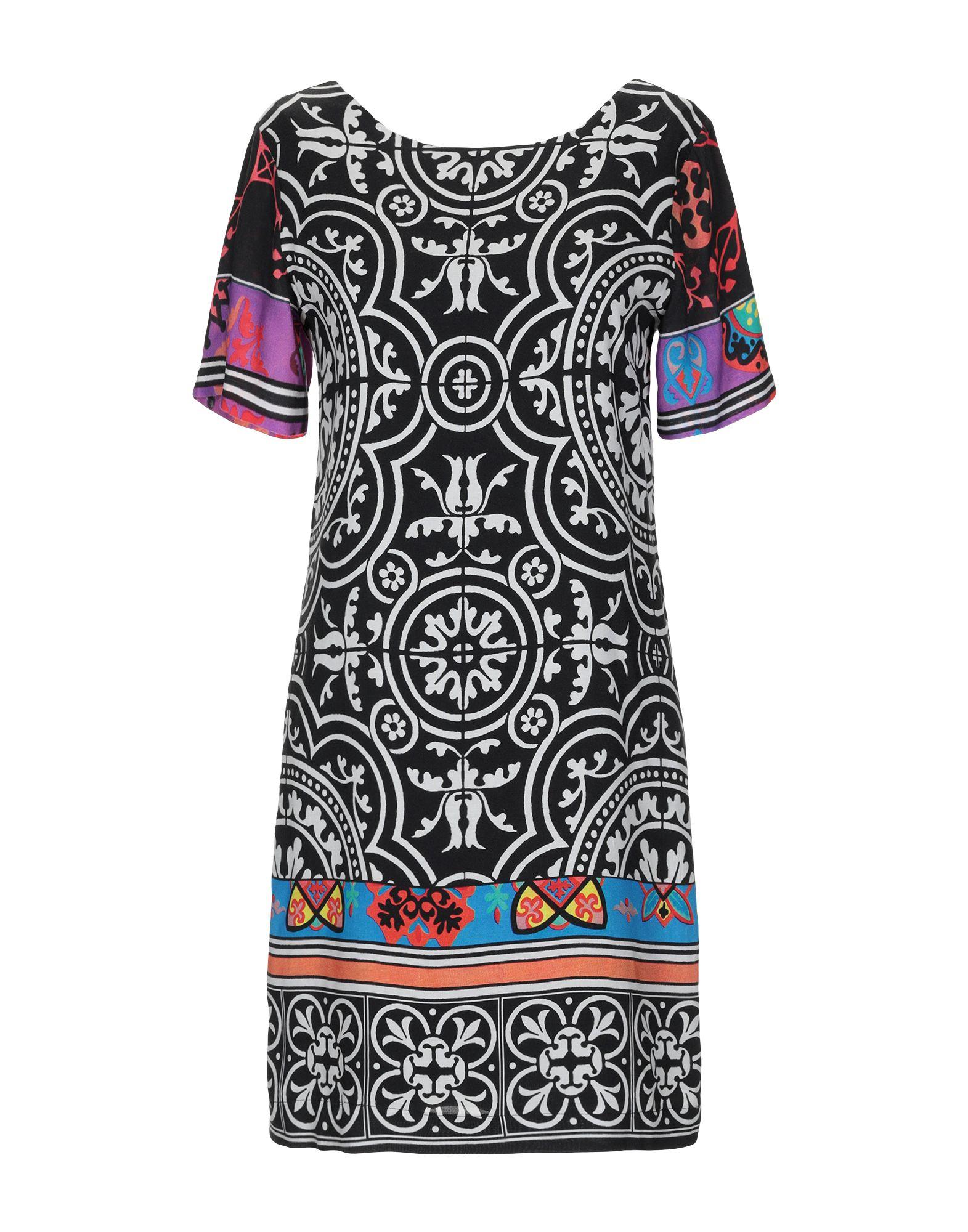 DESIGUAL Короткое платье женское платье dotfashion o 2015 sheinside vestidos desigual dress150122509
