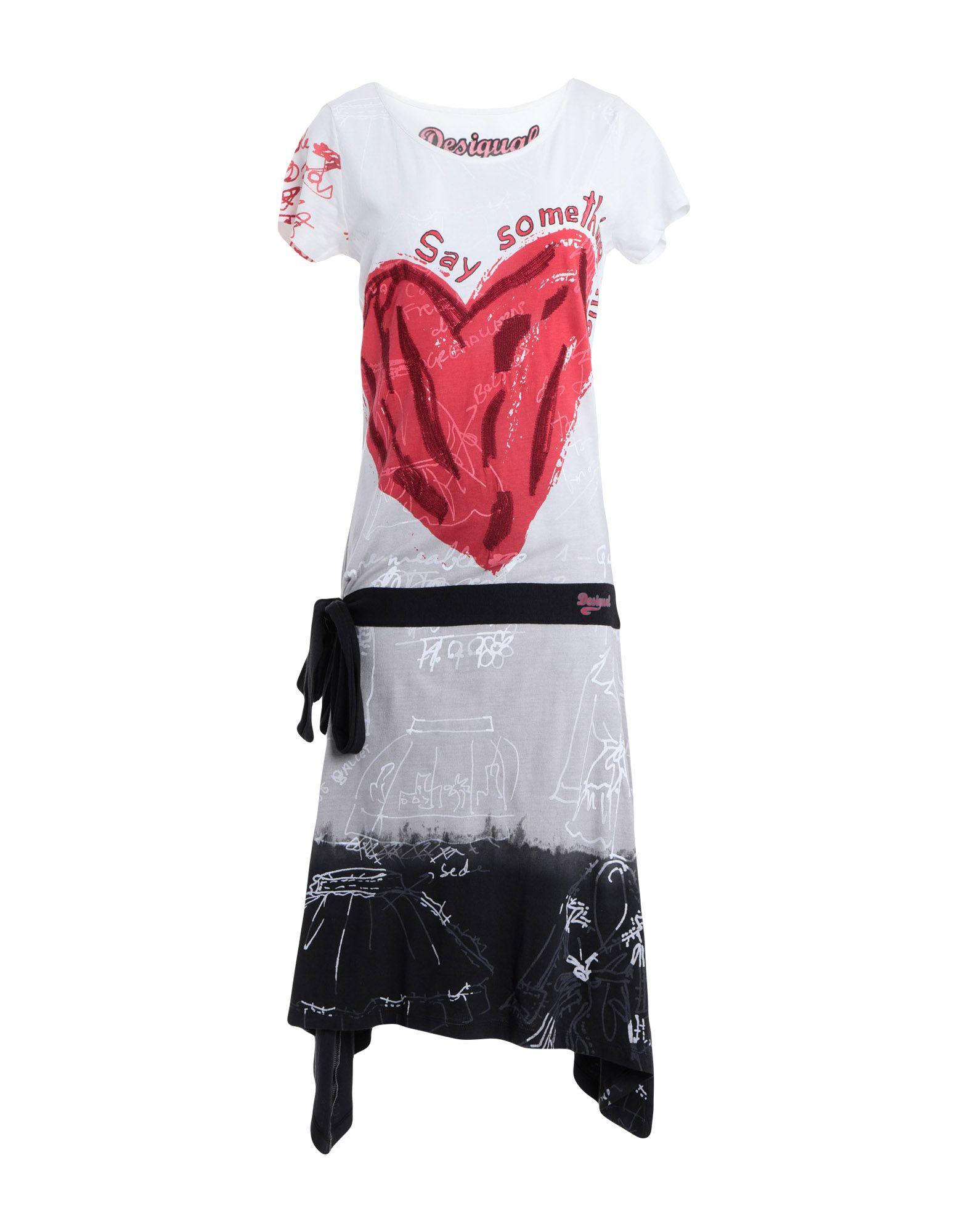 DESIGUAL Платье до колена платье desigual desigual de002ewabxu9
