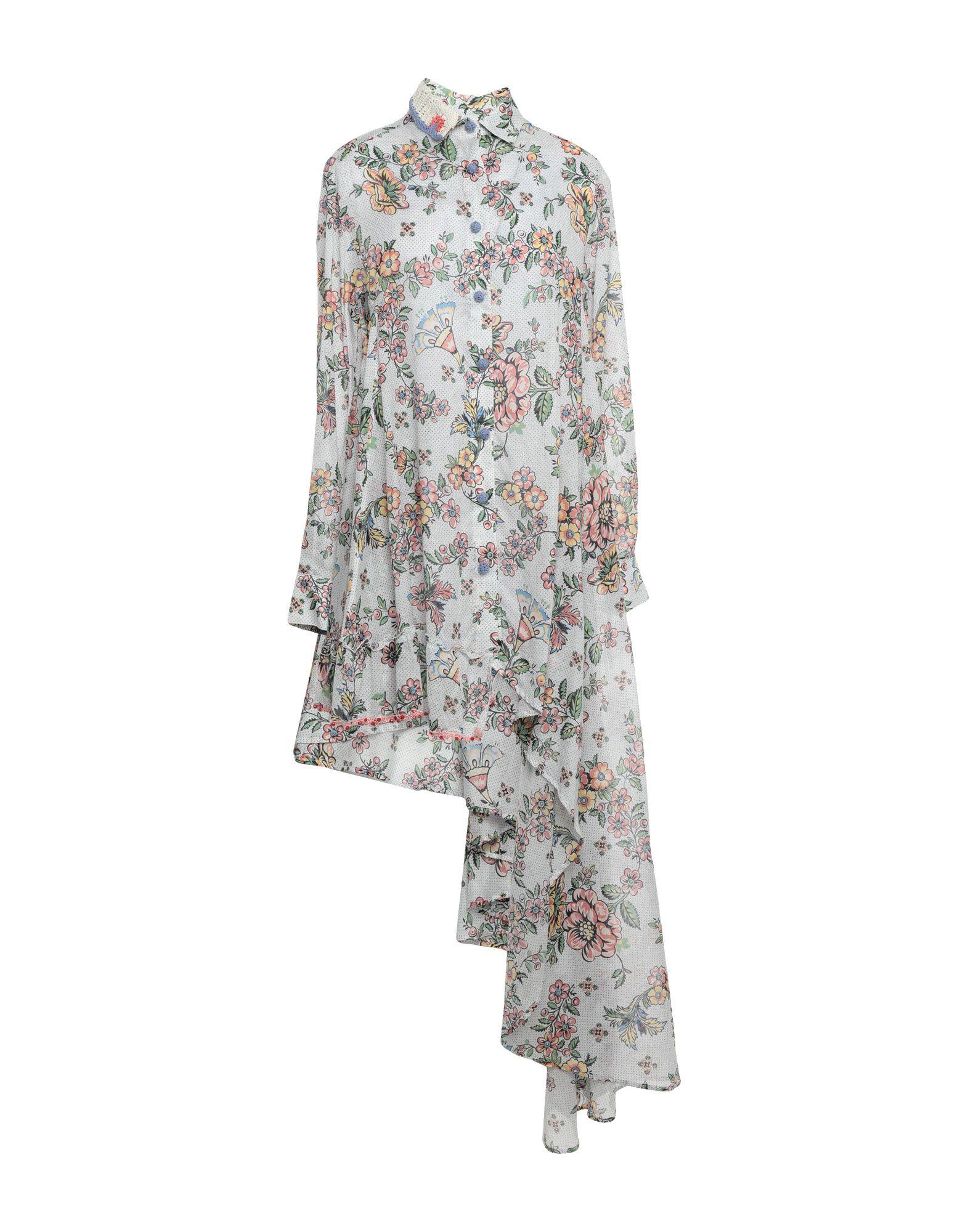 ANJUNA Короткое платье платье рубашка fox yulia sway платье рубашка fox