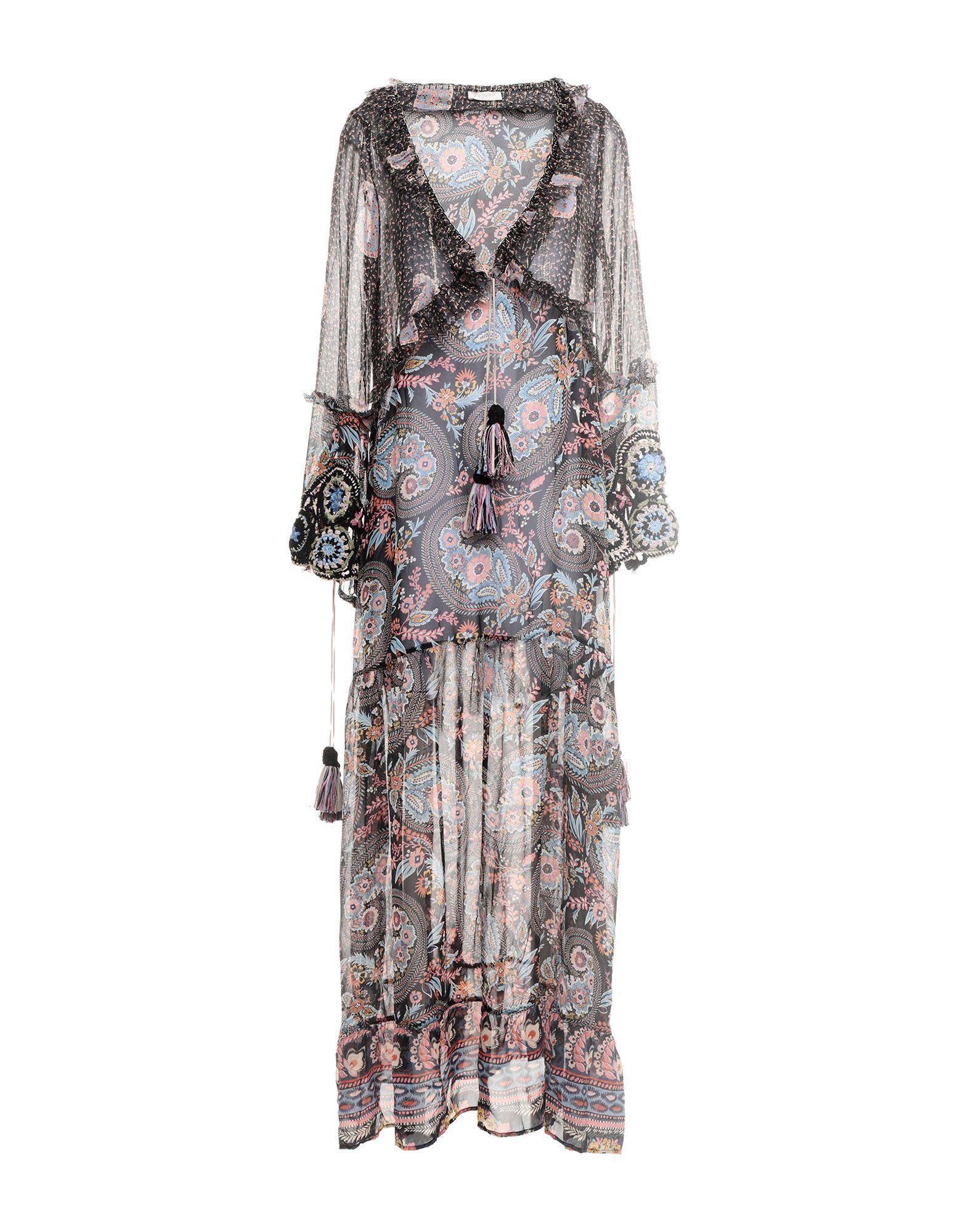 ANJUNA Длинное платье anjuna блузка