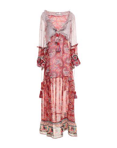 Купить Женское длинное платье ANJUNA красного цвета