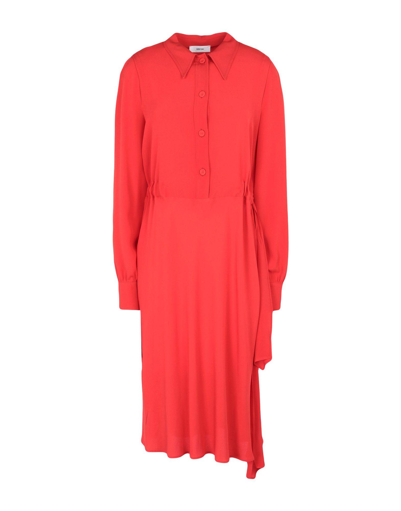 MAURO GRIFONI Платье до колена платье рубашка fox yulia sway платье рубашка fox
