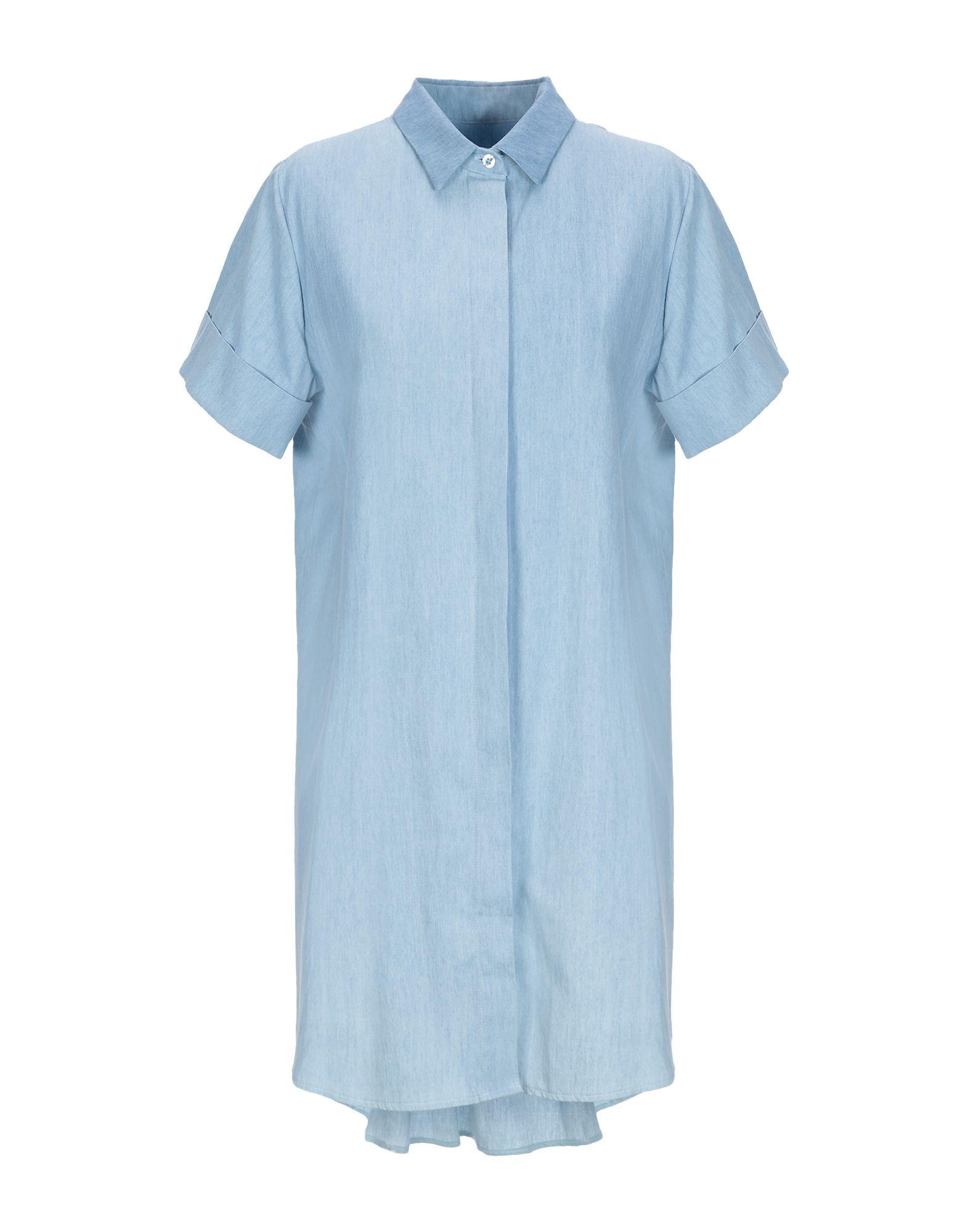 ANIMAGEMELLA Короткое платье платье рубашка fox yulia sway платье рубашка fox