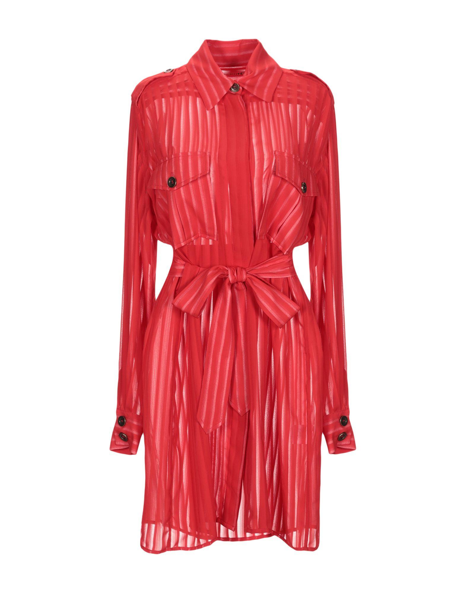 NINEMINUTES Короткое платье платье рубашка fox yulia sway платье рубашка fox