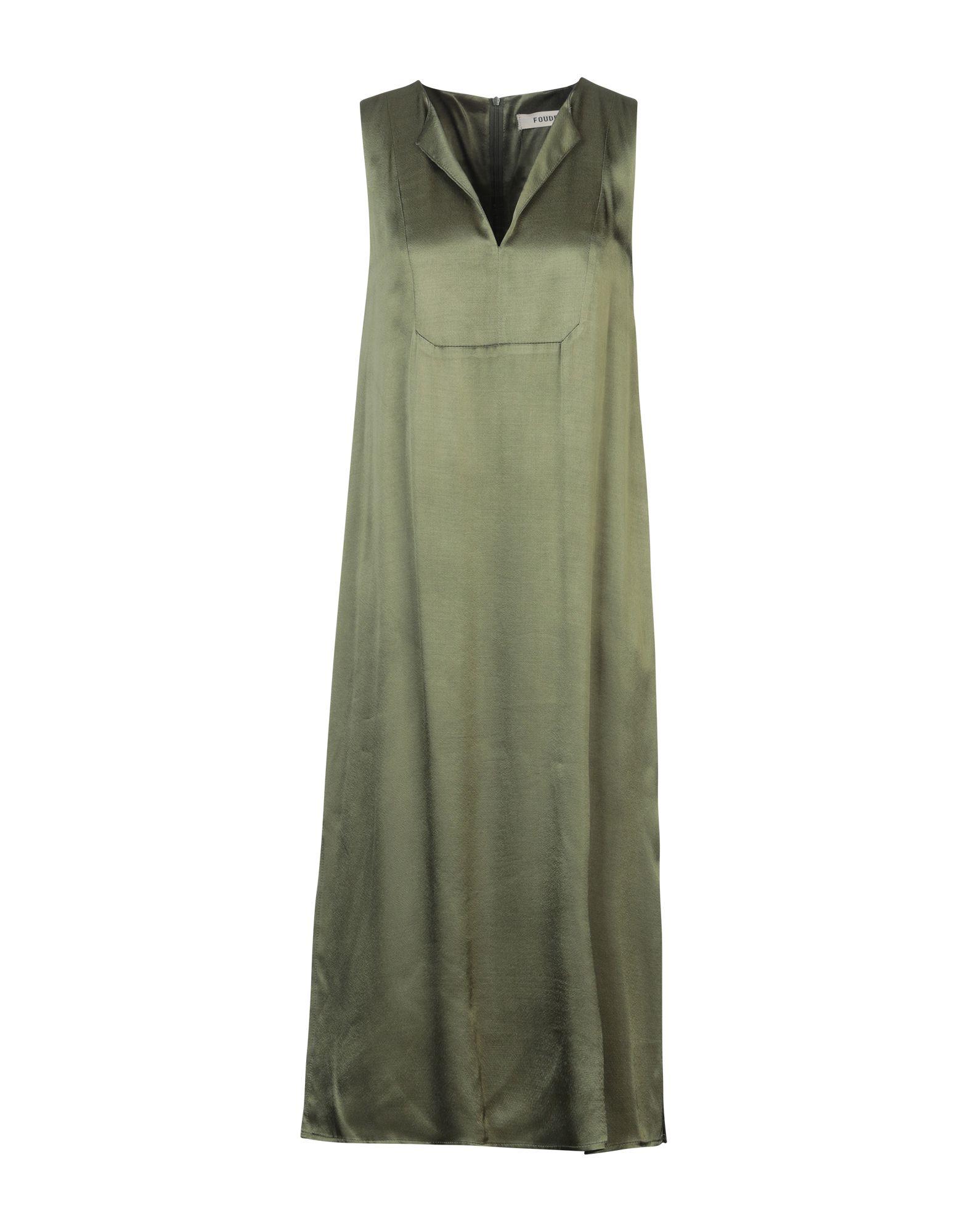 FOUDESIR Платье длиной 3/4 foudesir юбка длиной 3 4