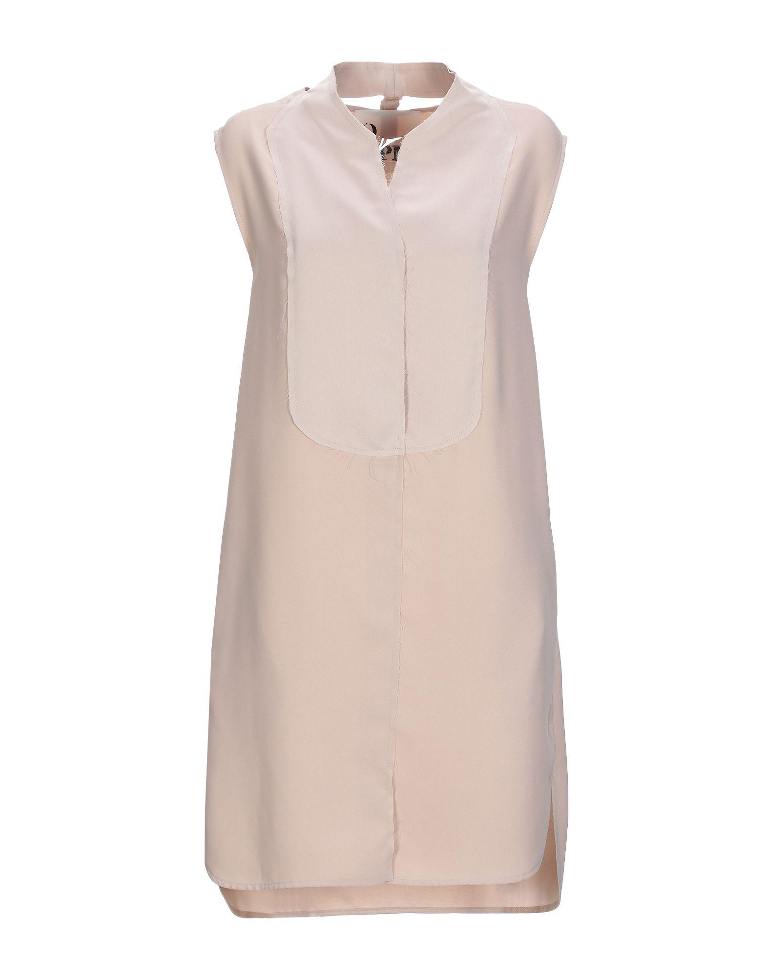 8PM Короткое платье платье рубашка fox yulia sway платье рубашка fox
