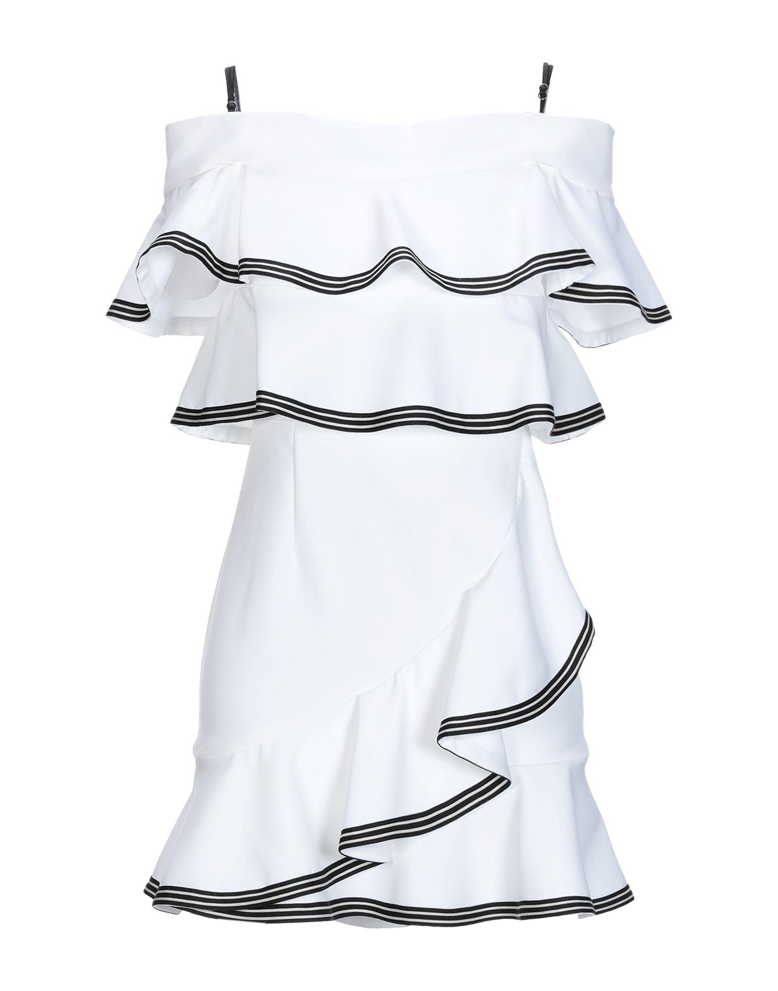 SPACE STYLE CONCEPT Короткое платье цены онлайн