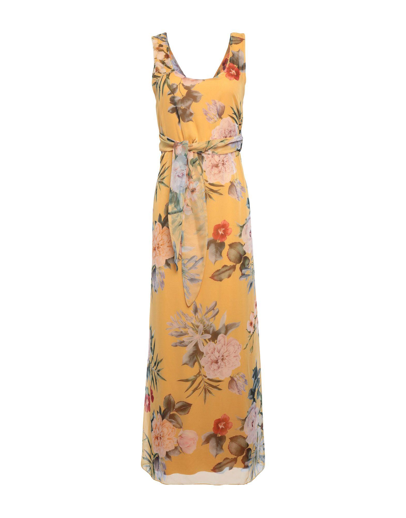 LE STREGHE Damen Langes Kleid Farbe Gelb Größe 5