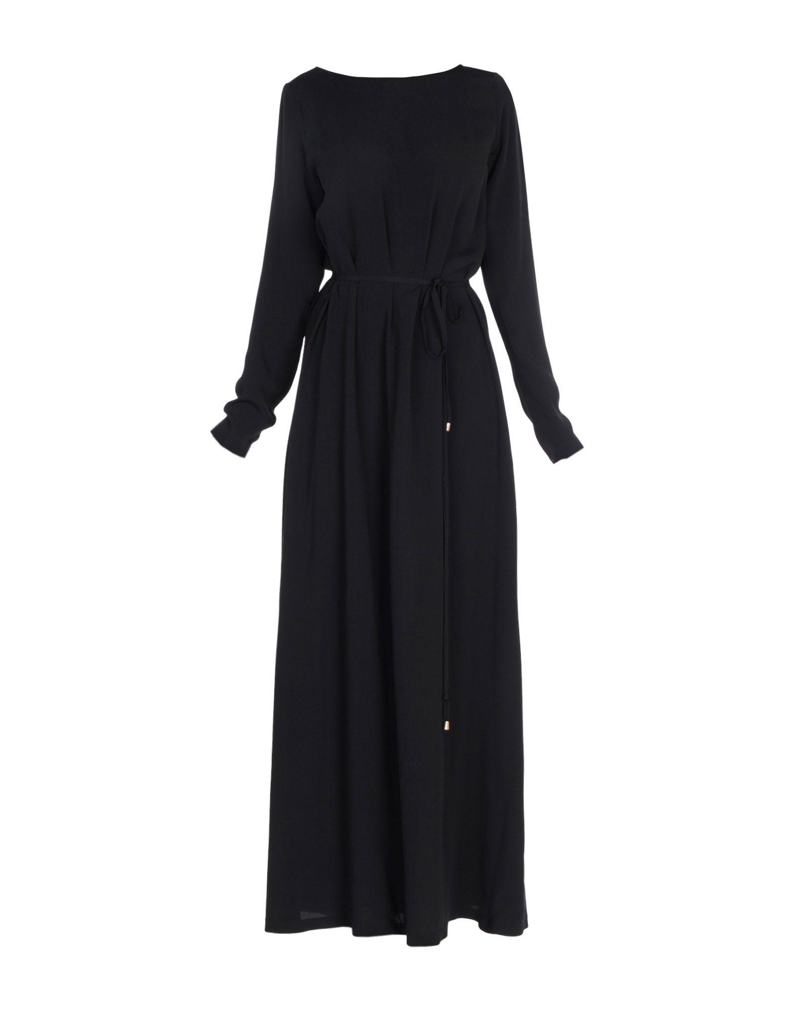 цена MAURO GRIFONI Длинное платье онлайн в 2017 году