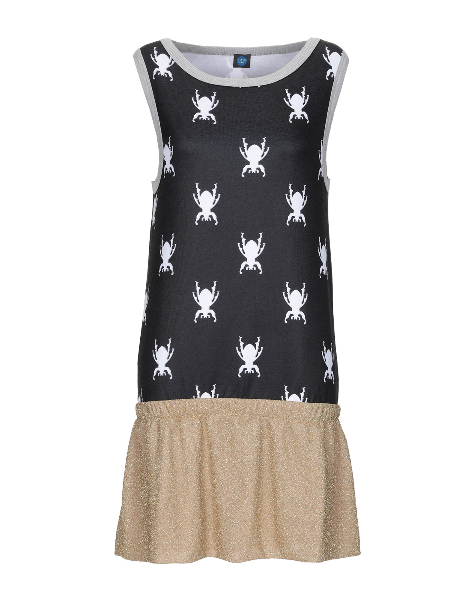 I LOVE POP Короткое платье