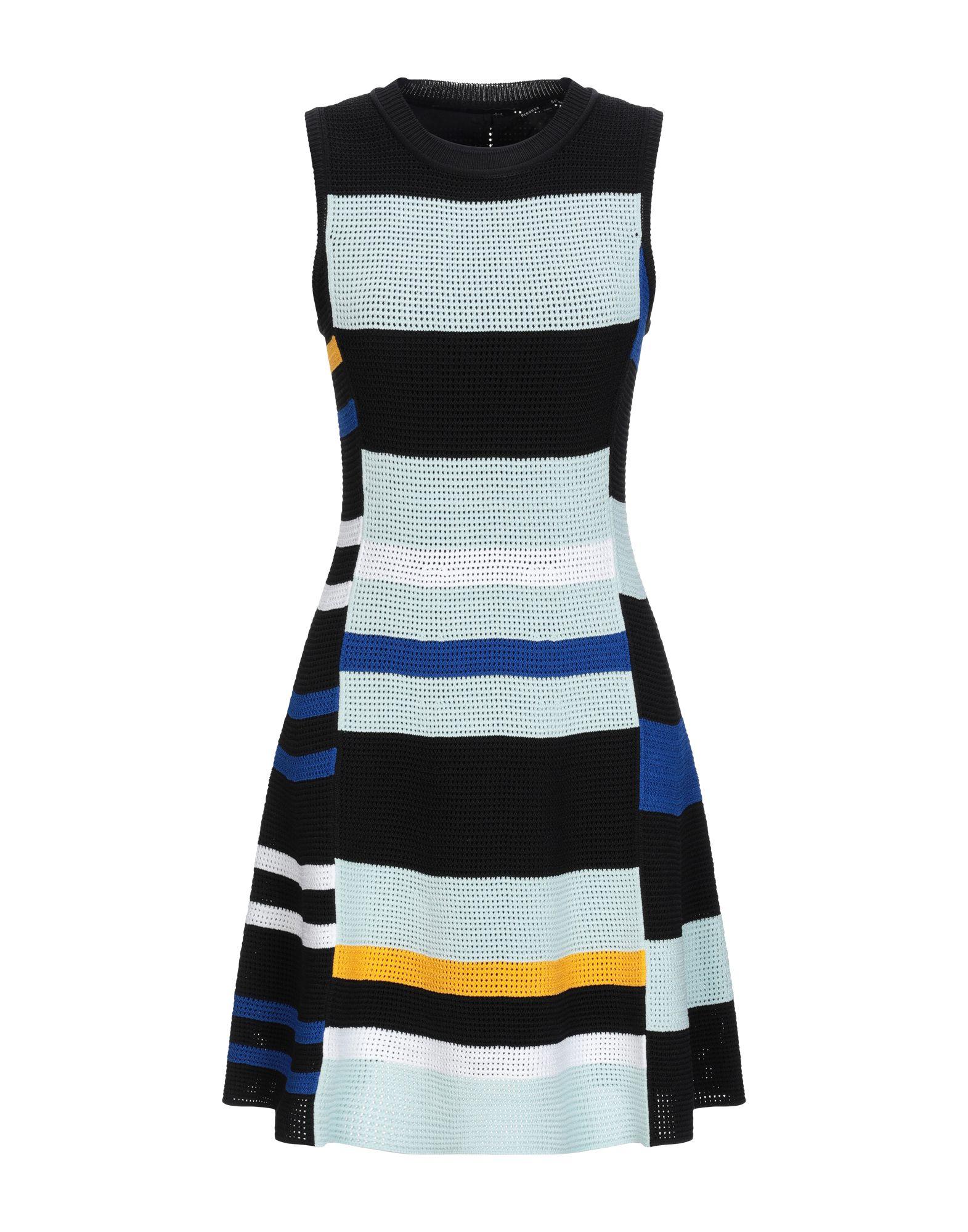 PROENZA SCHOULER Короткое платье proenza schouler вязаное платье в полоску