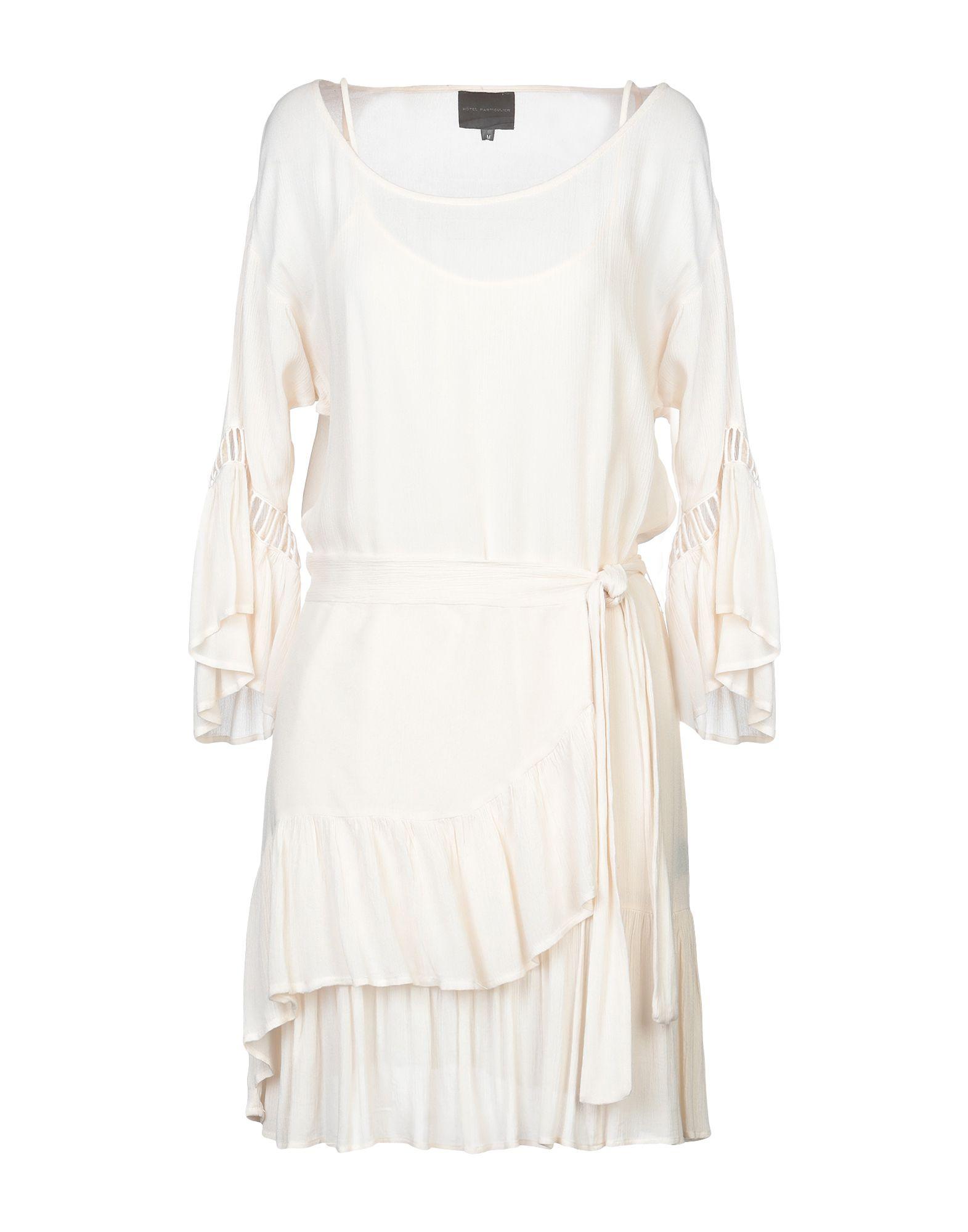 HOTEL PARTICULIER Короткое платье hotel particulier блузка