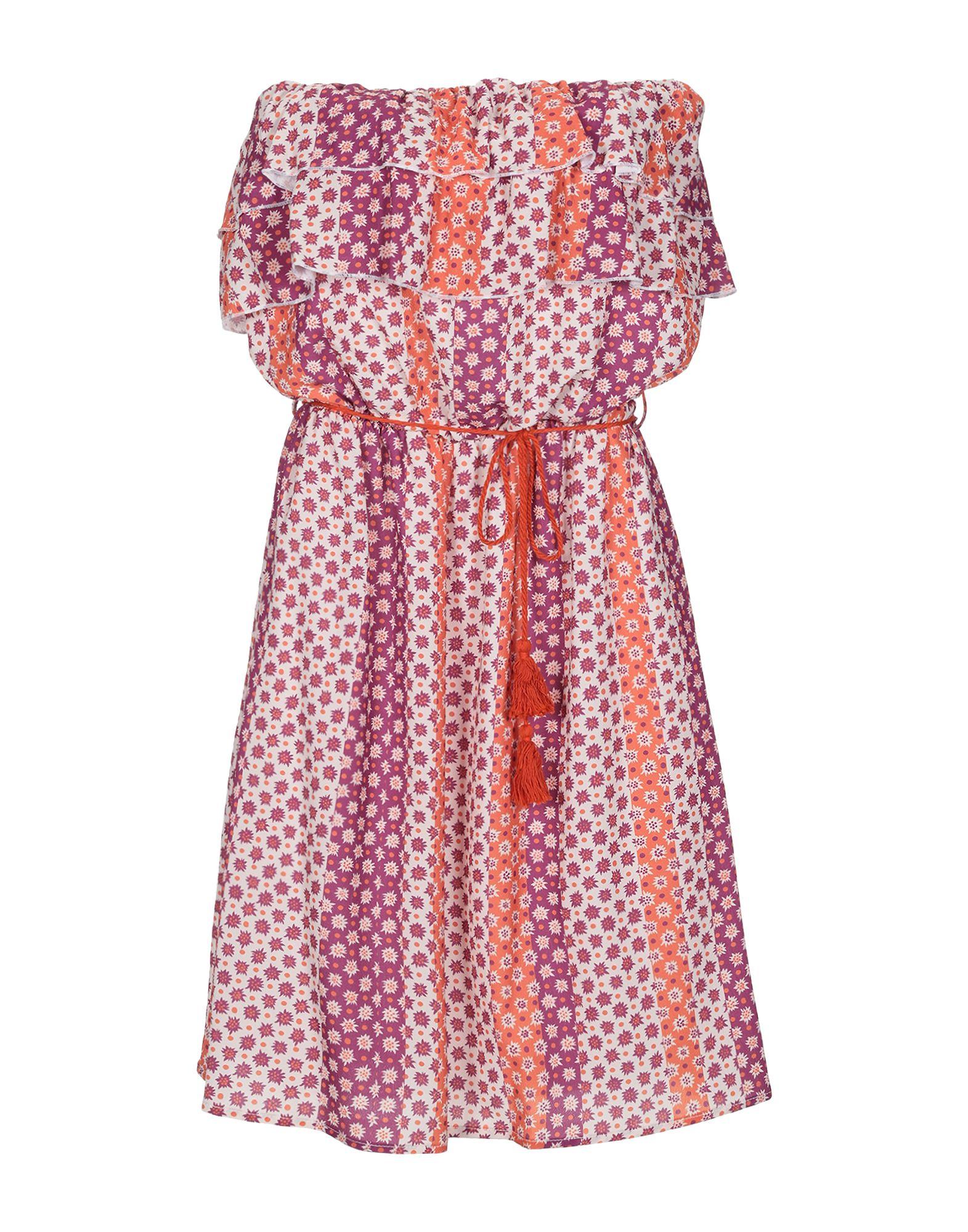 MIA WISH Короткое платье mia wish pубашка