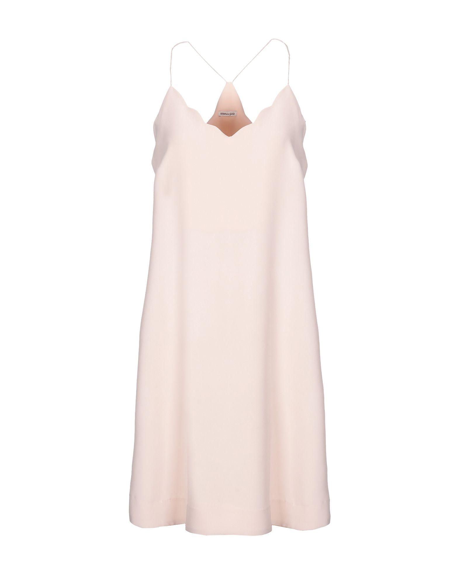 EMMA & GAIA Короткое платье dress emma monti платья и сарафаны приталенные