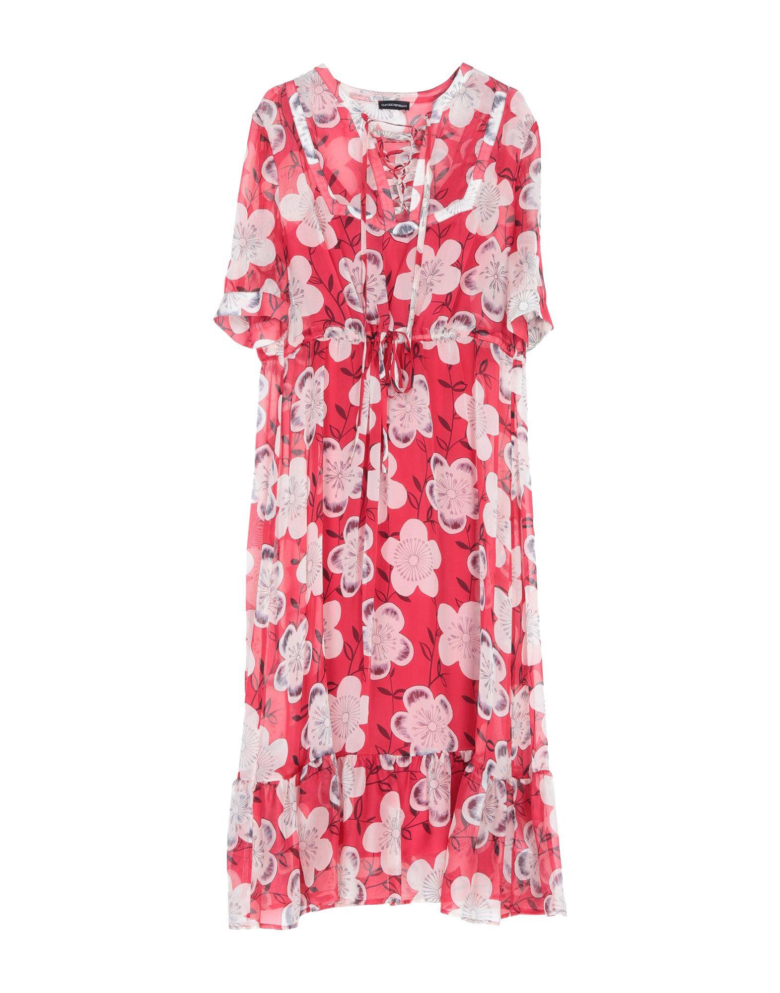EMPORIO ARMANI Платье длиной 3/4 цены онлайн