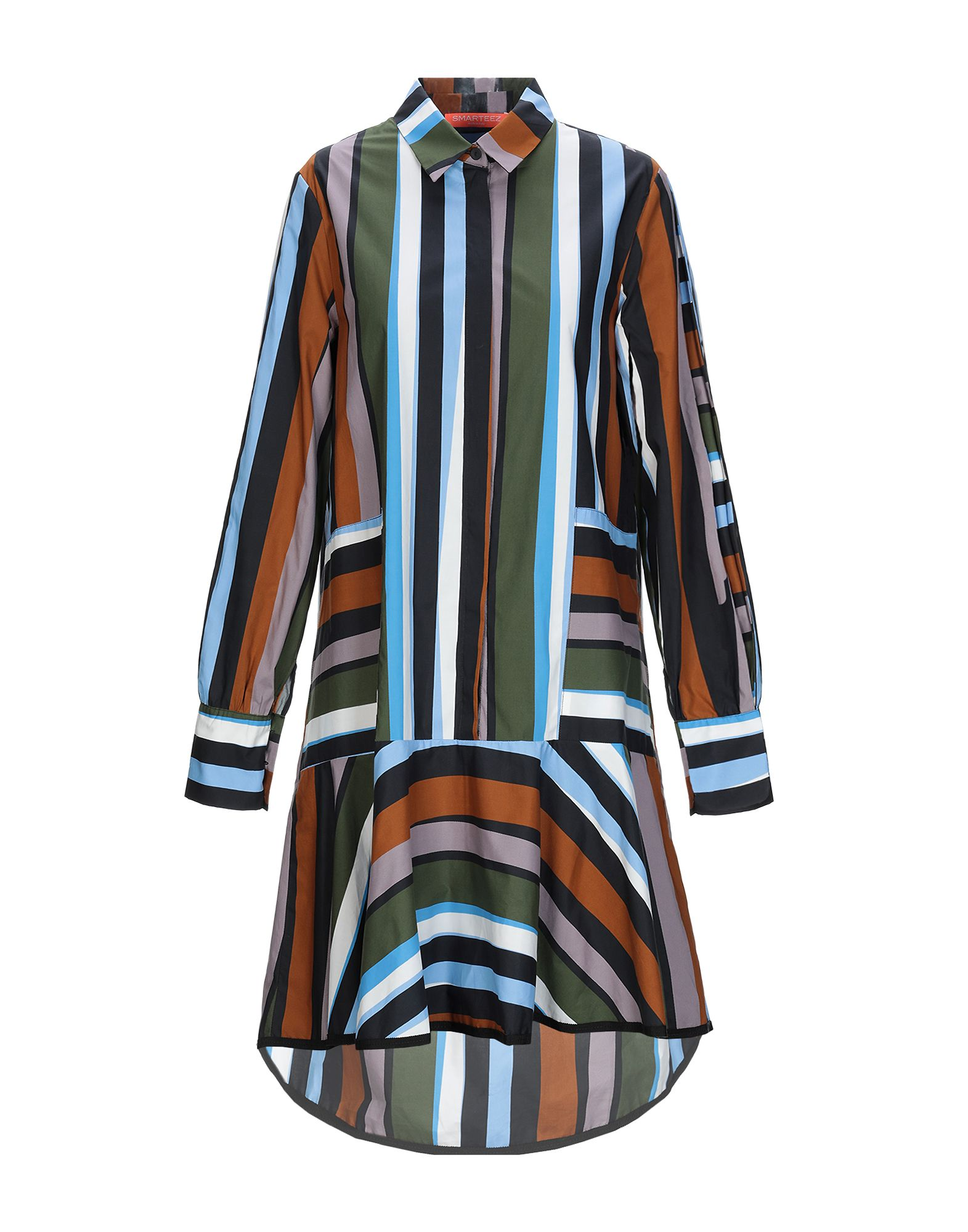SMARTEEZ Короткое платье smarteez pубашка
