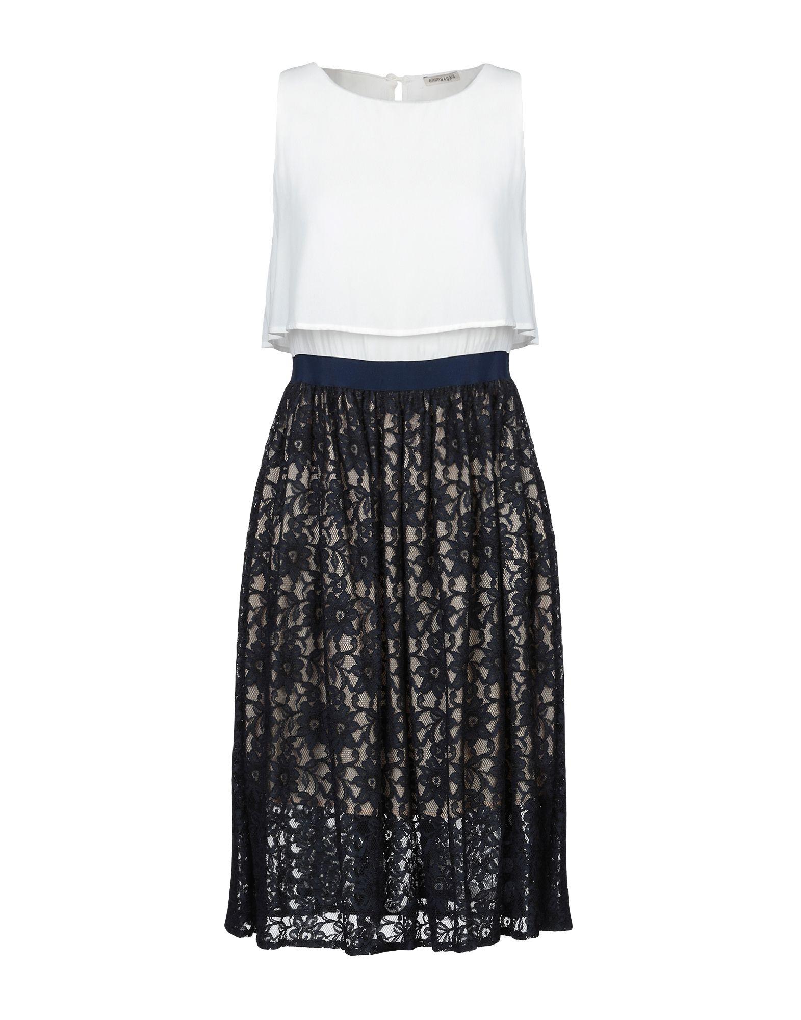 EMMA & GAIA Платье до колена dress emma monti платья и сарафаны приталенные