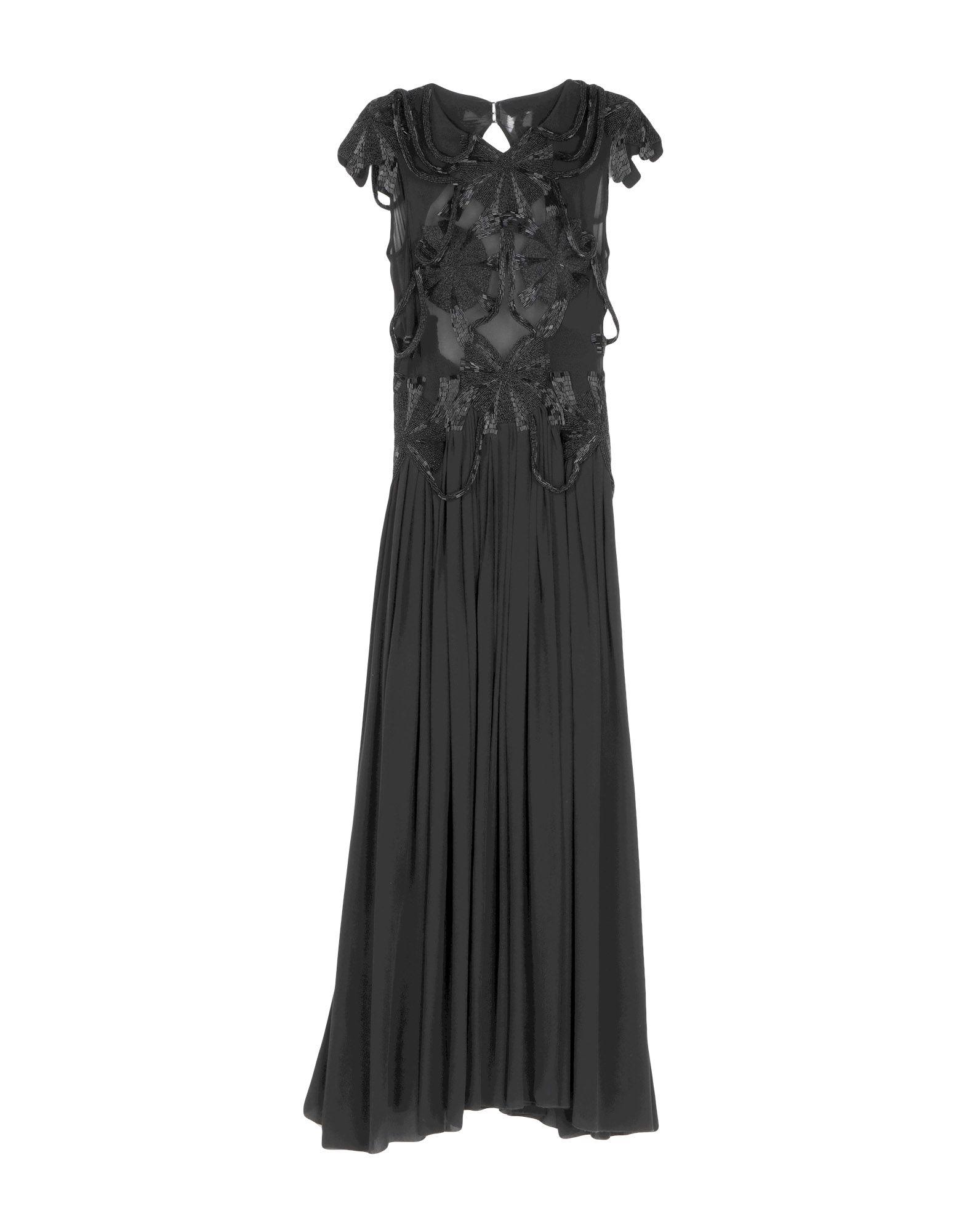 цена AUGUSTIN TEBOUL Платье длиной 3/4 в интернет-магазинах
