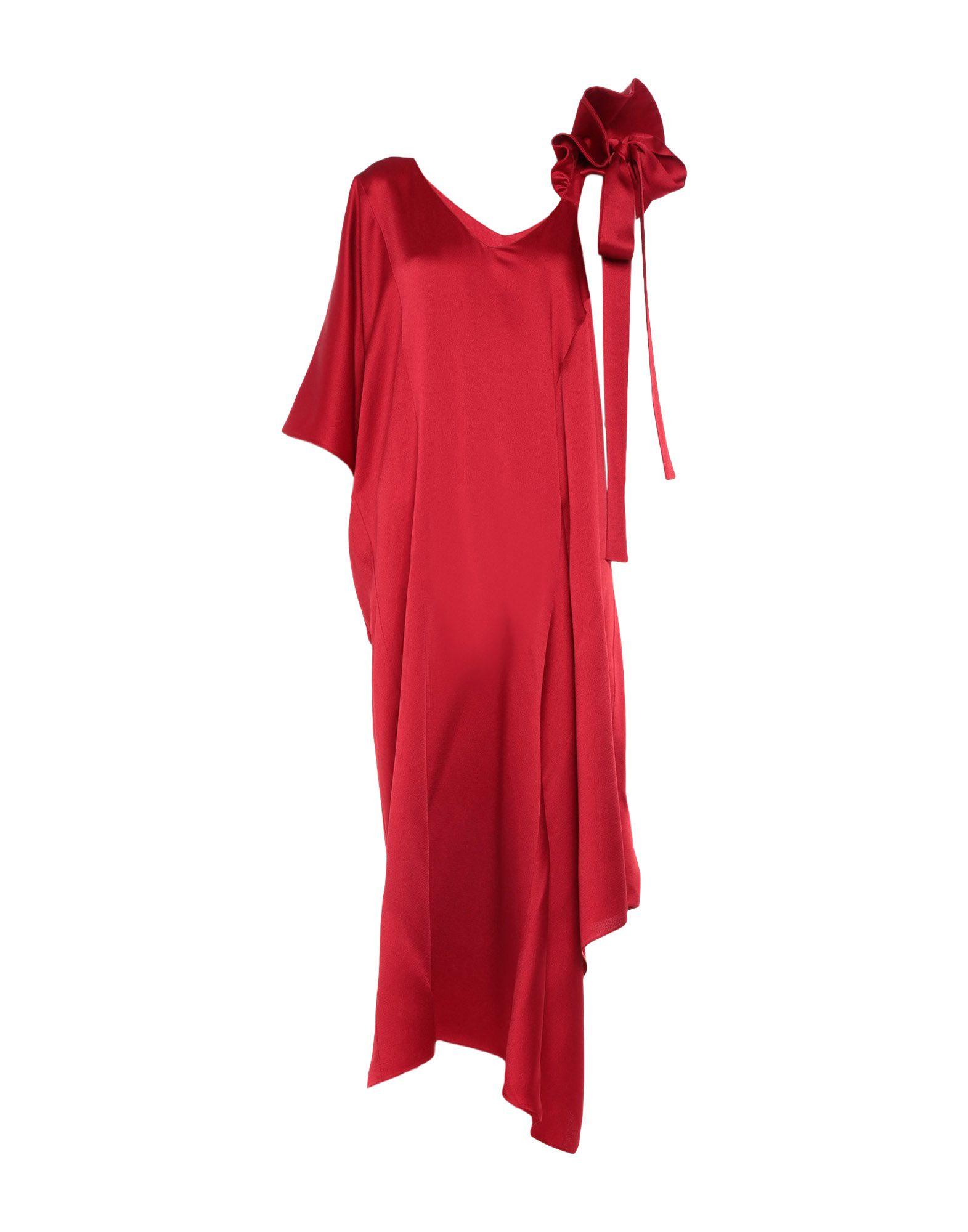 VALENTINO Платье длиной 3/4 платье valentino red платья и сарафаны кружевные ажурные и гипюровые