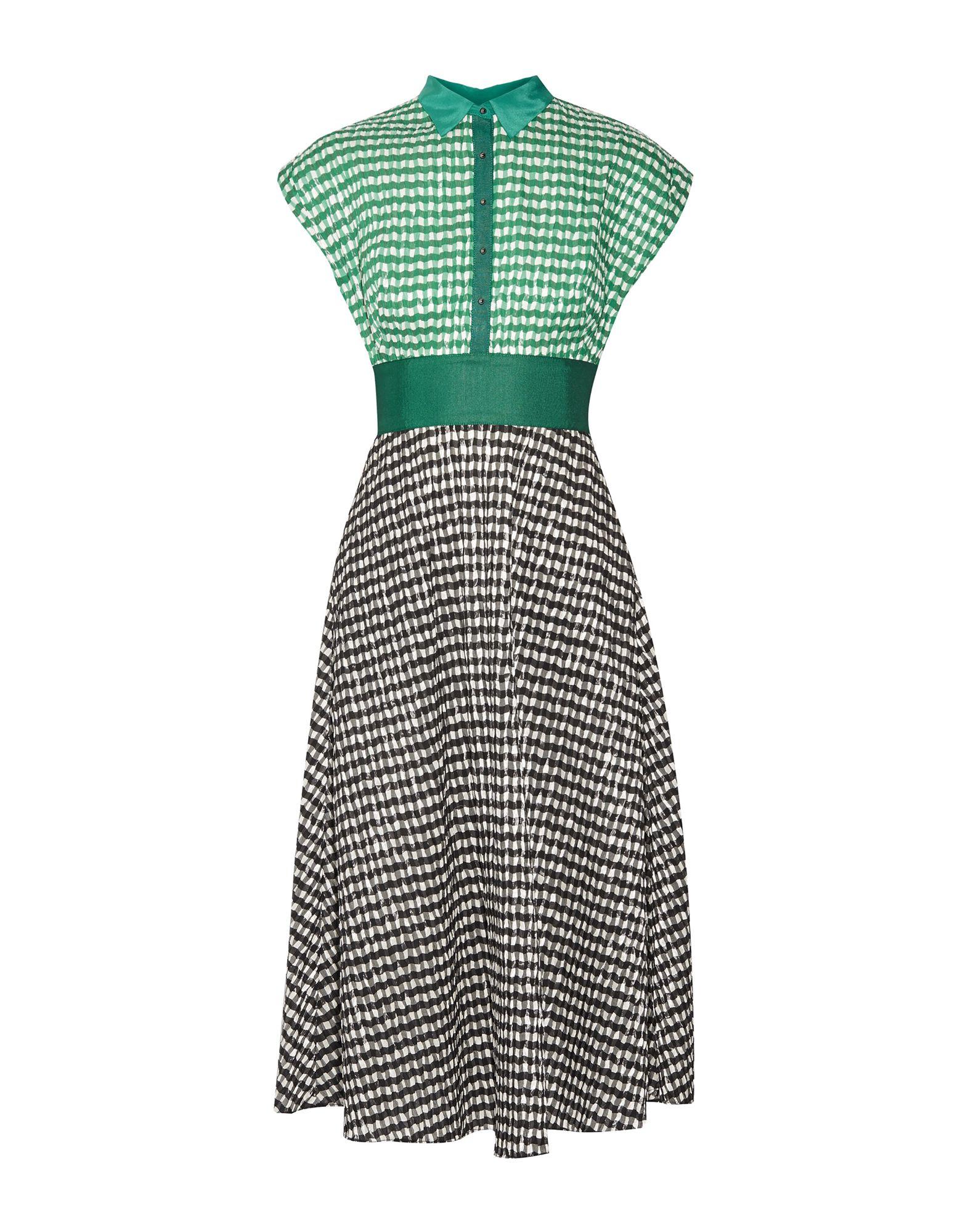 LELA ROSE Платье длиной 3/4 lela rose юбка длиной 3 4