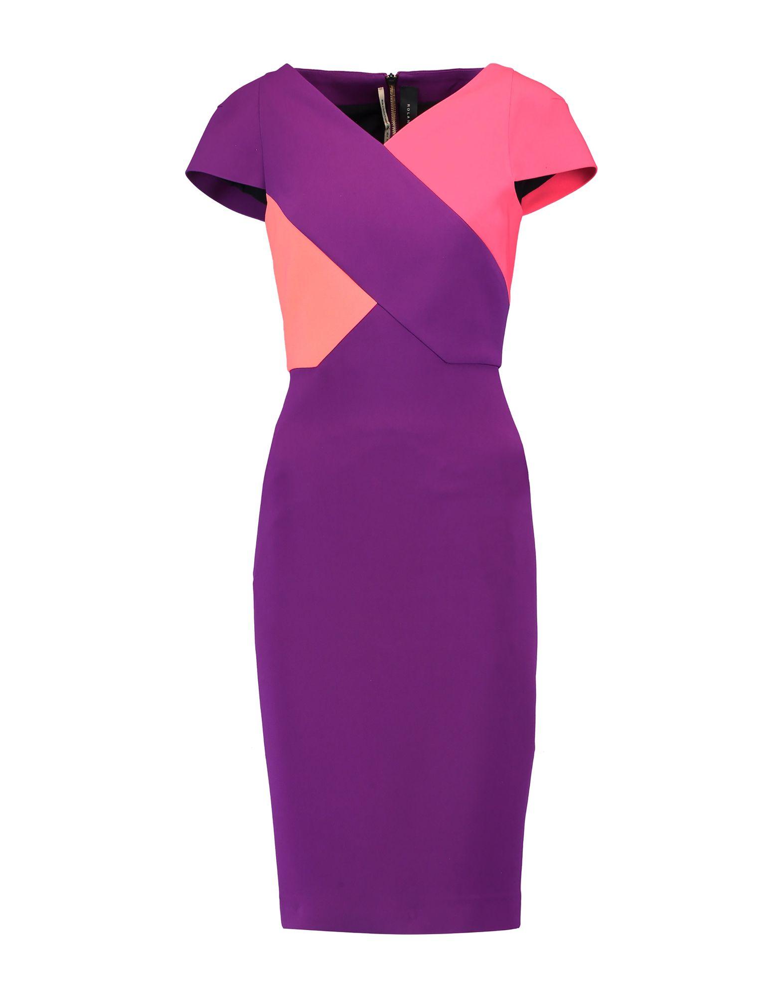 ROLAND MOURET Платье до колена бра eurosvet аврора 70038 1 хром
