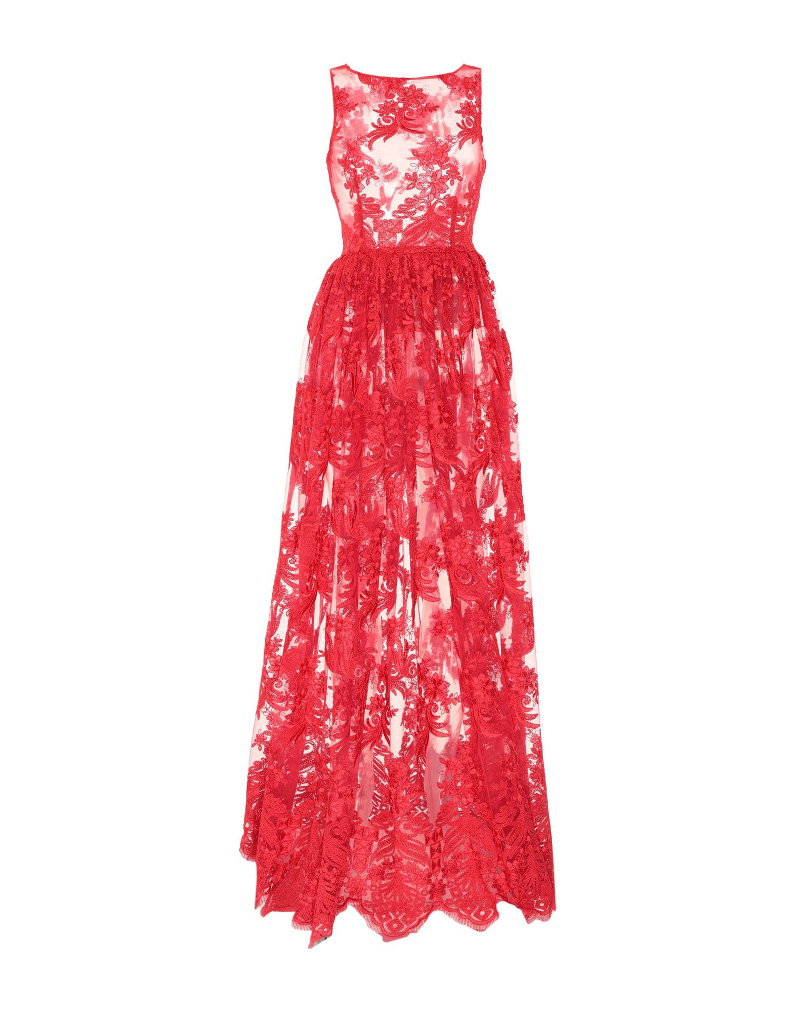 SHI 4 Длинное платье пу cha ma shi