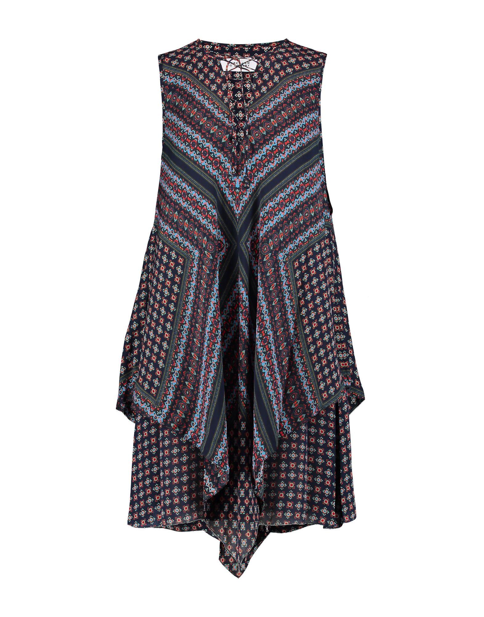 купить DEREK LAM 10 CROSBY Короткое платье по цене 37500 рублей