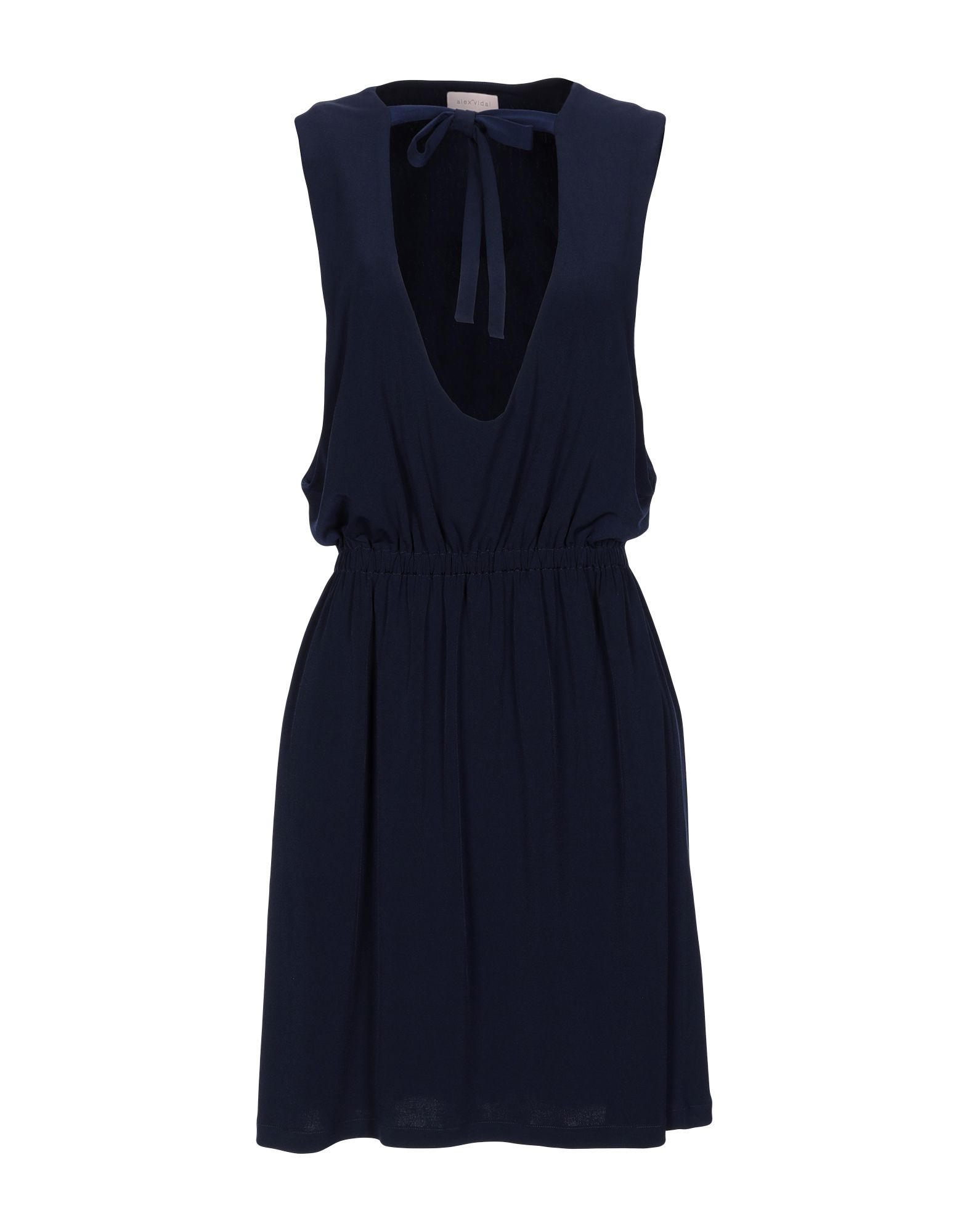 ALEX VIDAL Короткое платье платье alex lu alex lu mp002xw0jbke