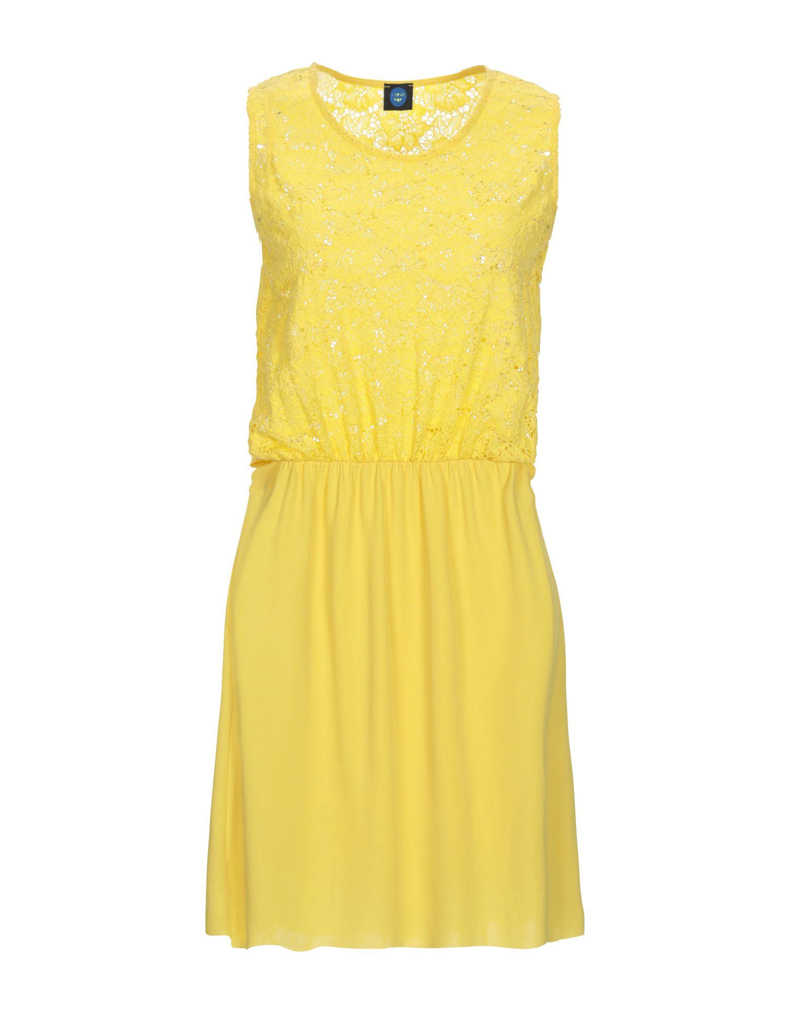 цены на I LOVE POP Короткое платье  в интернет-магазинах