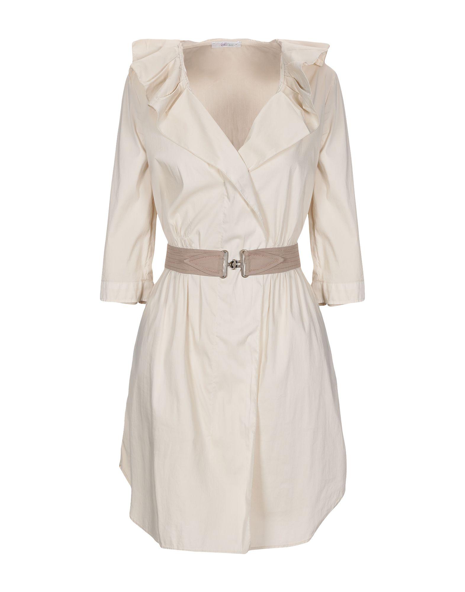 GOLD CASE Короткое платье платье